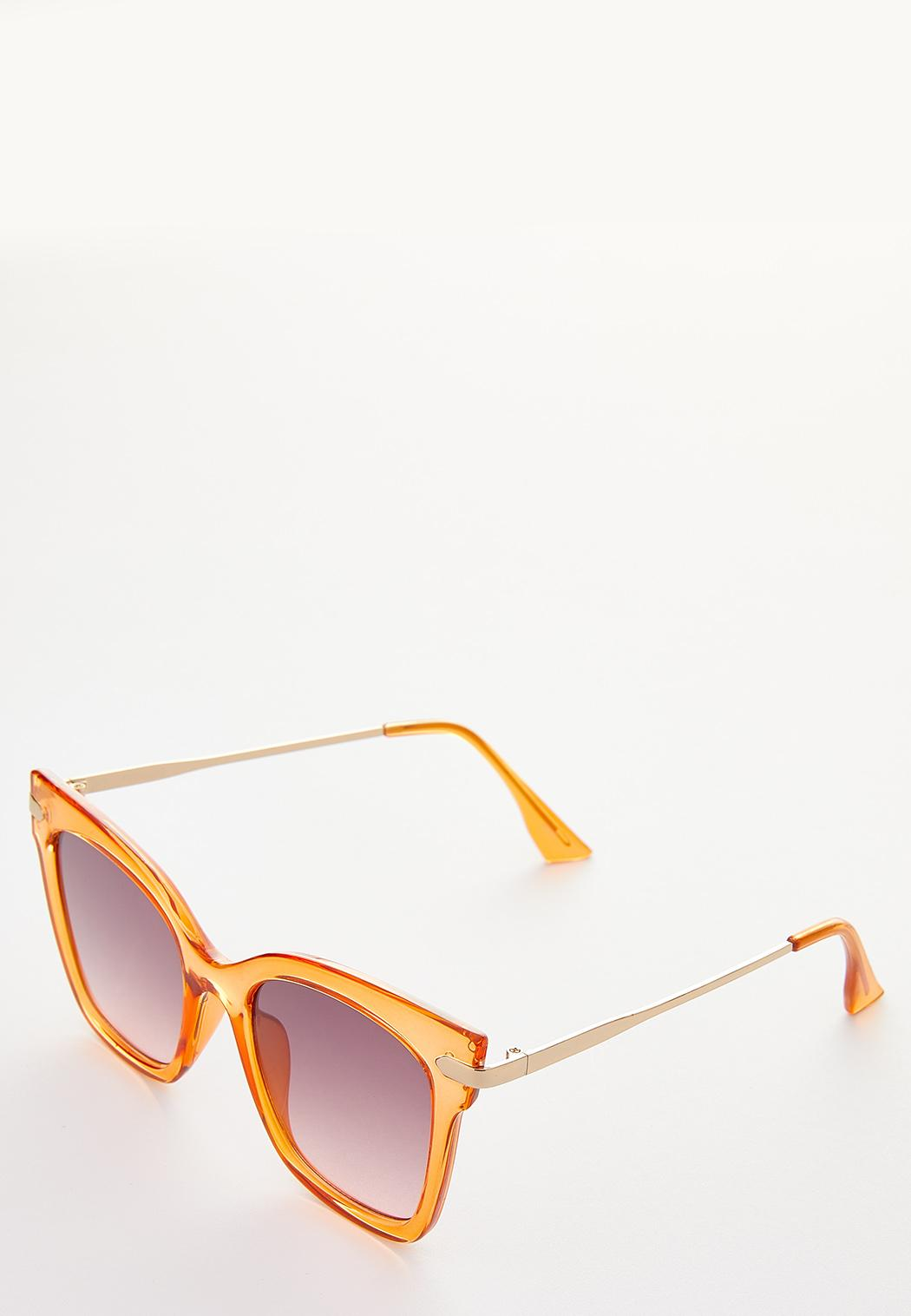 Colored Lucite Fashion Sunglasses (Item #44249412)