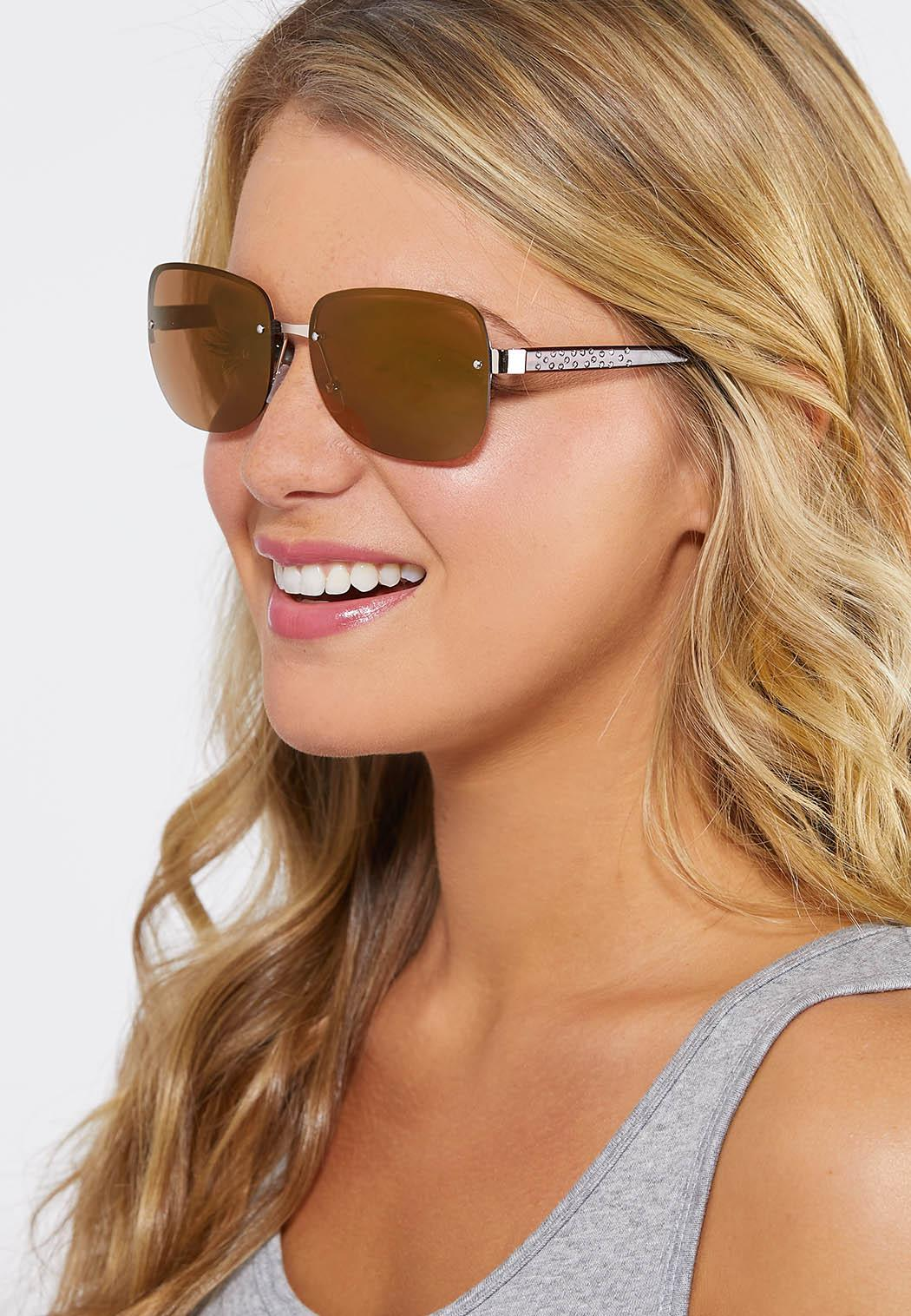 Stone Arm Rimless Sunglasses (Item #44249422)