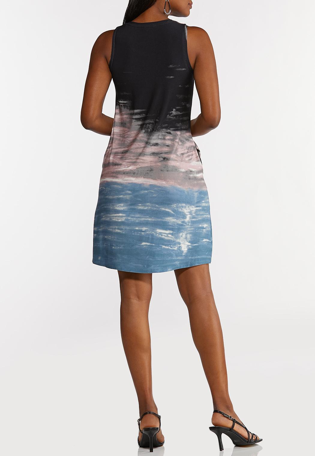 Tie Dye Sky Swing Dress (Item #44249572)