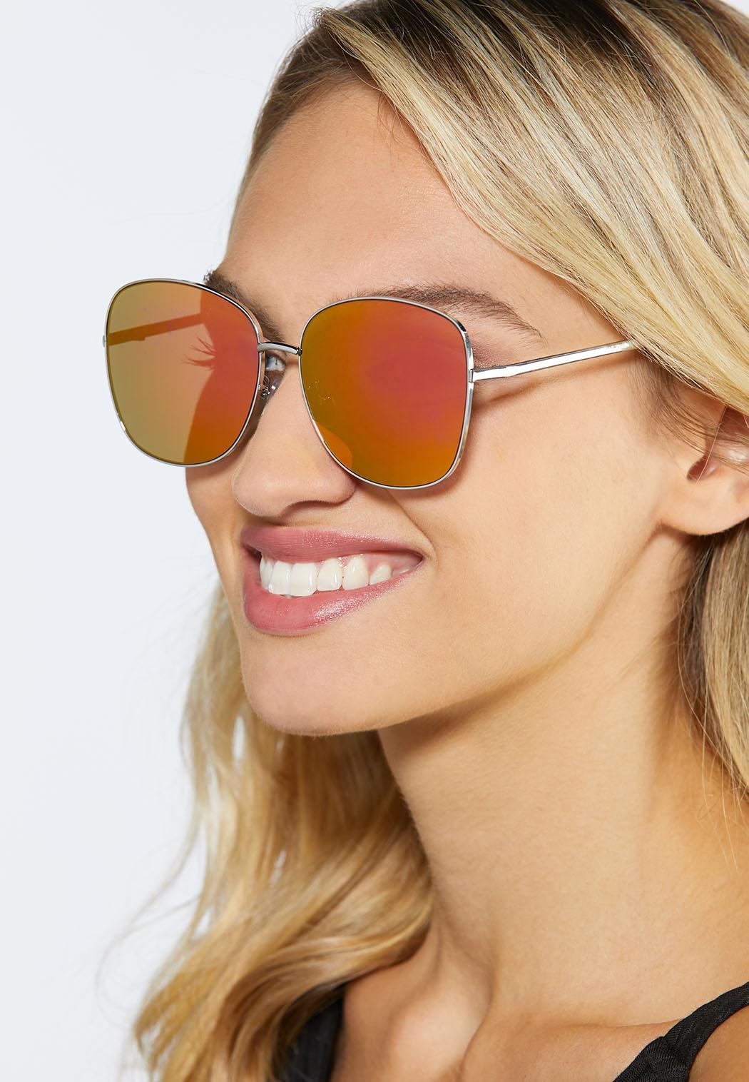 Mirrored Square Sunglasses (Item #44249690)