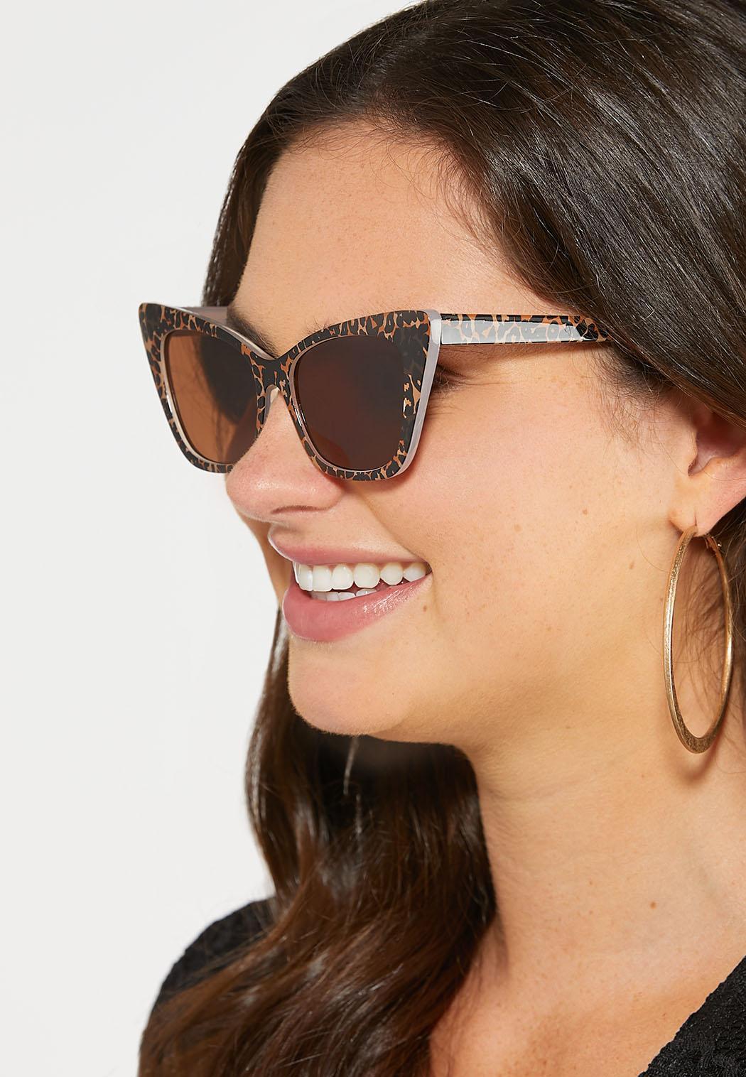 Leopard Cateye Sunglasses (Item #44249757)