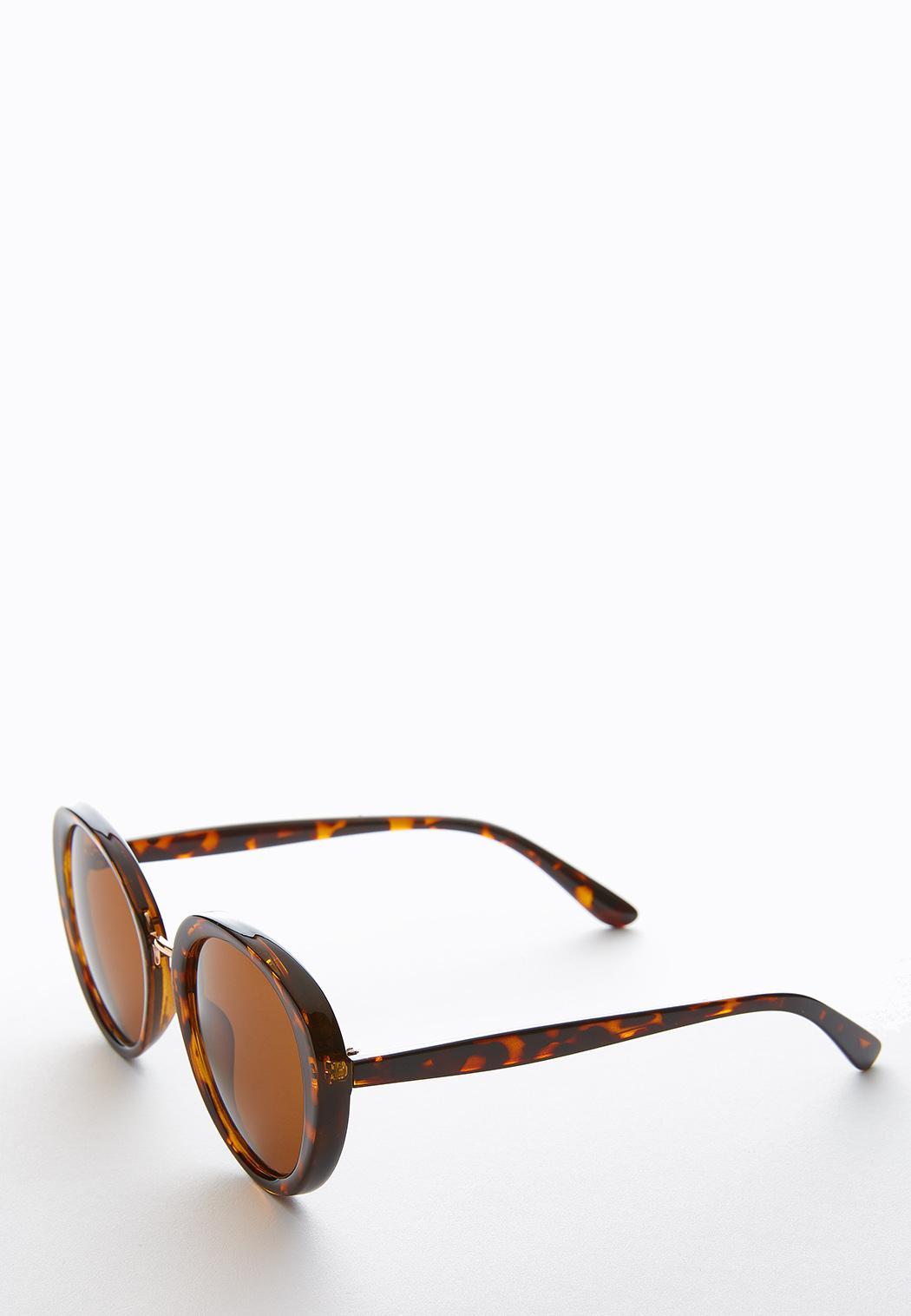 Capetown Round Tort Sunglasses (Item #44249981)