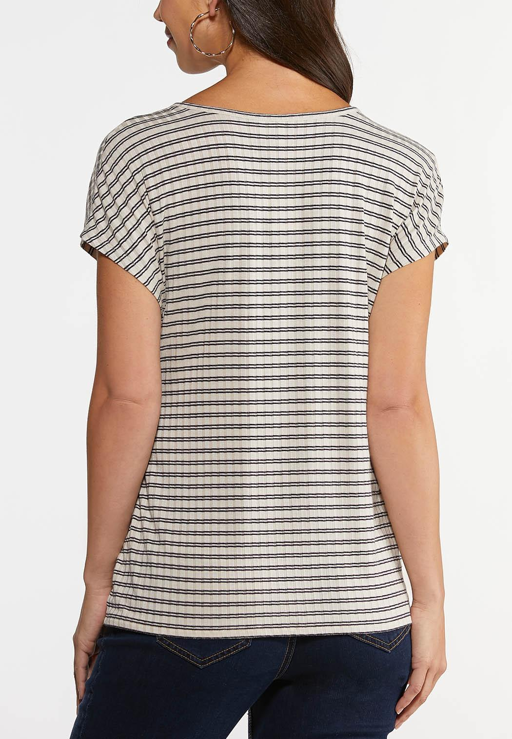 Stripe Wrap Top (Item #44250560)