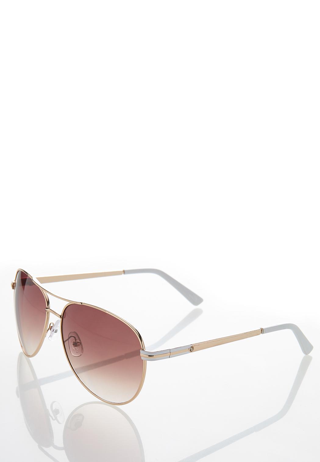 White Enamel Sunglasses (Item #44251076)
