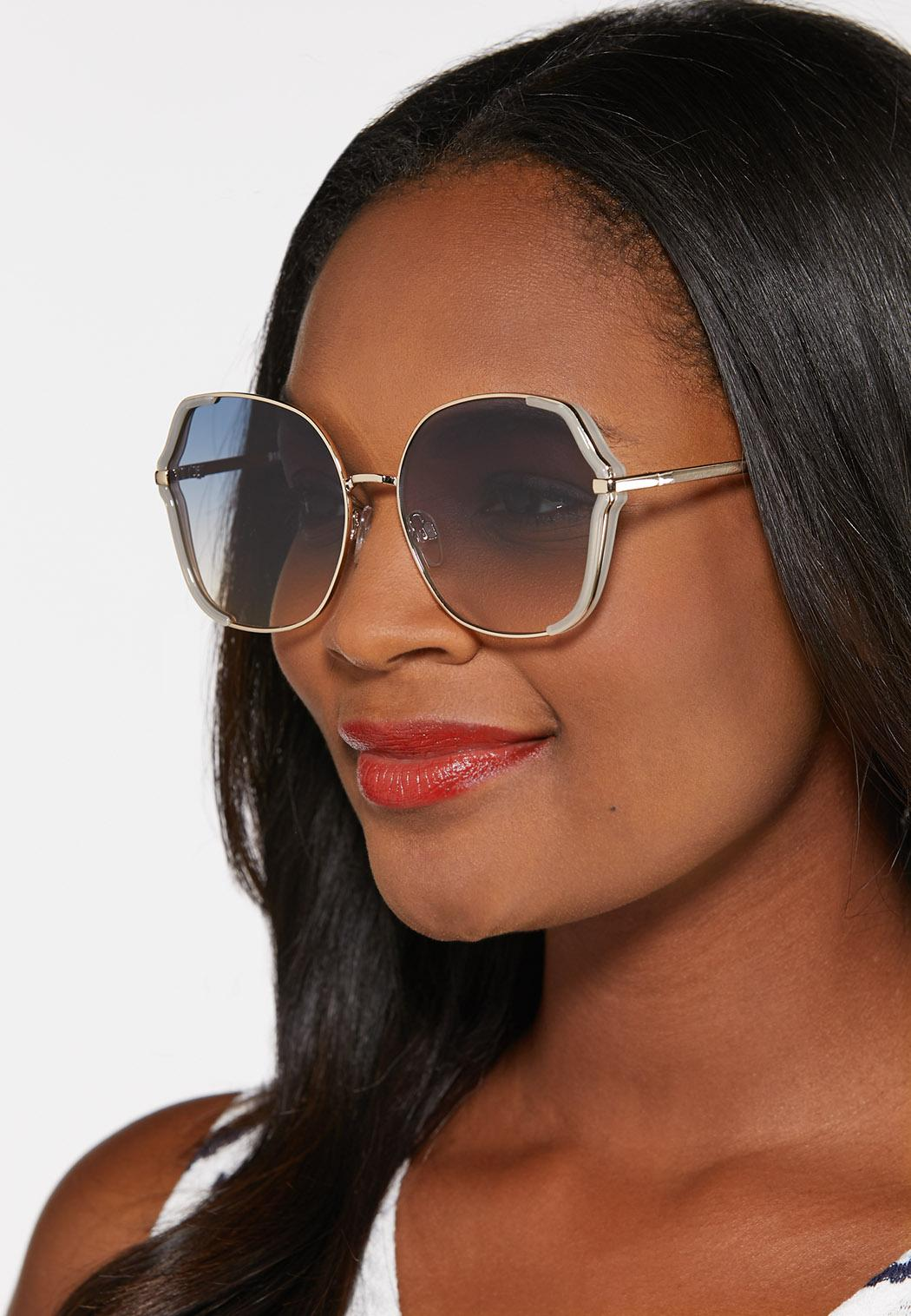 Blue Trim Sunglasses (Item #44251768)