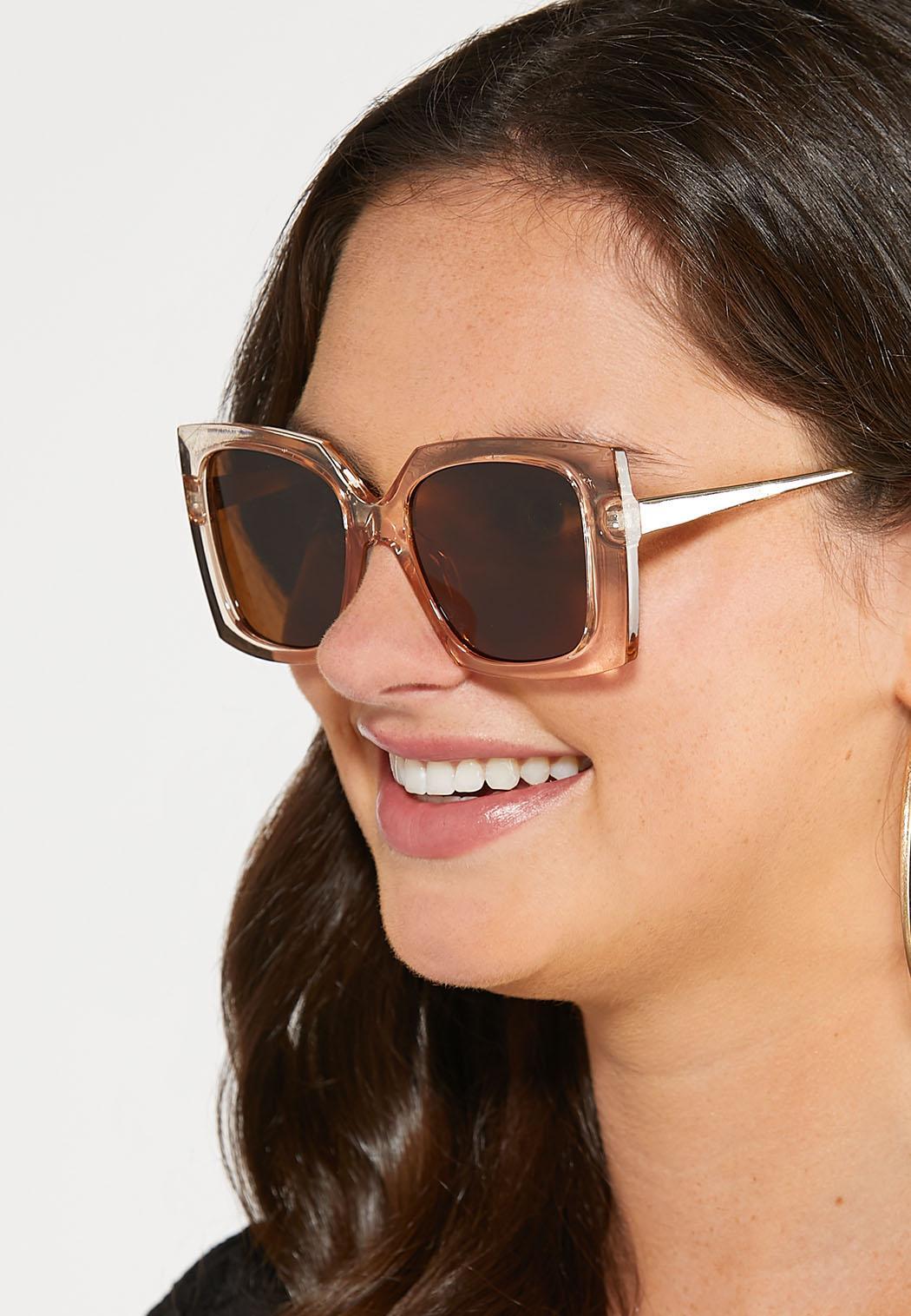 Lucite Geo Square Sunglasses (Item #44251795)