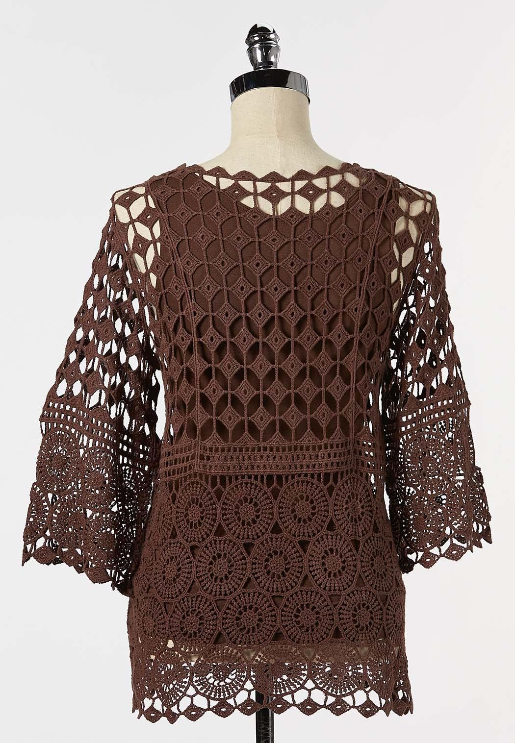 Crochet Pullover Top (Item #44253480)