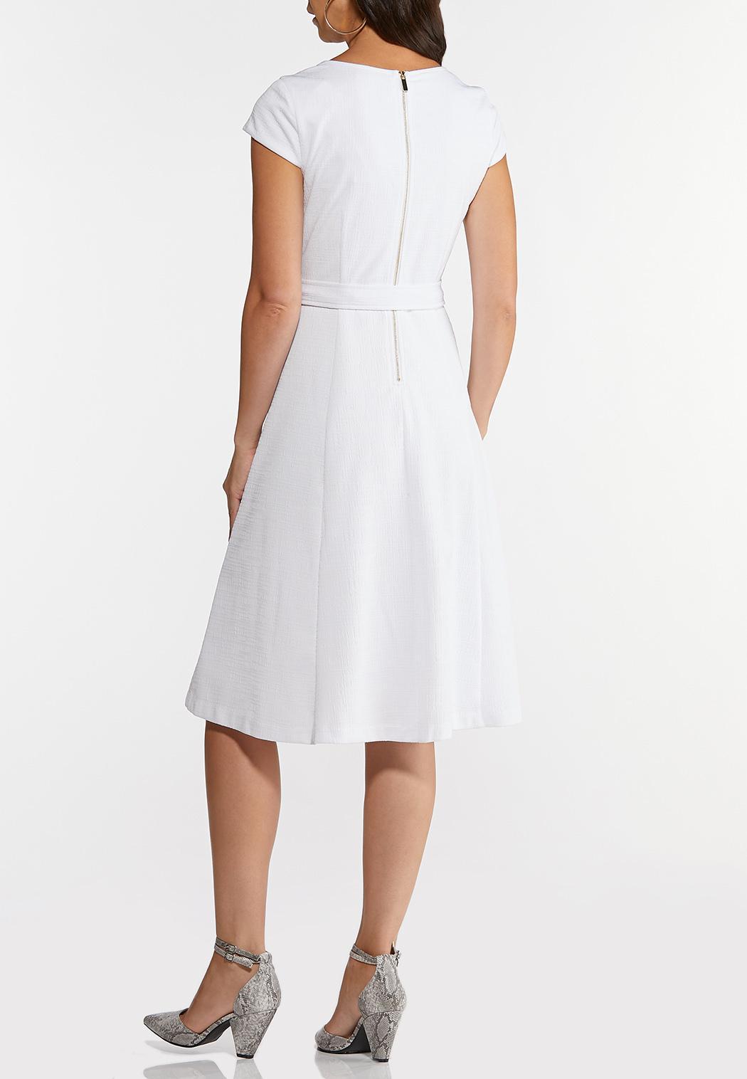 Square Neck Knit Midi Dress (Item #44256570)