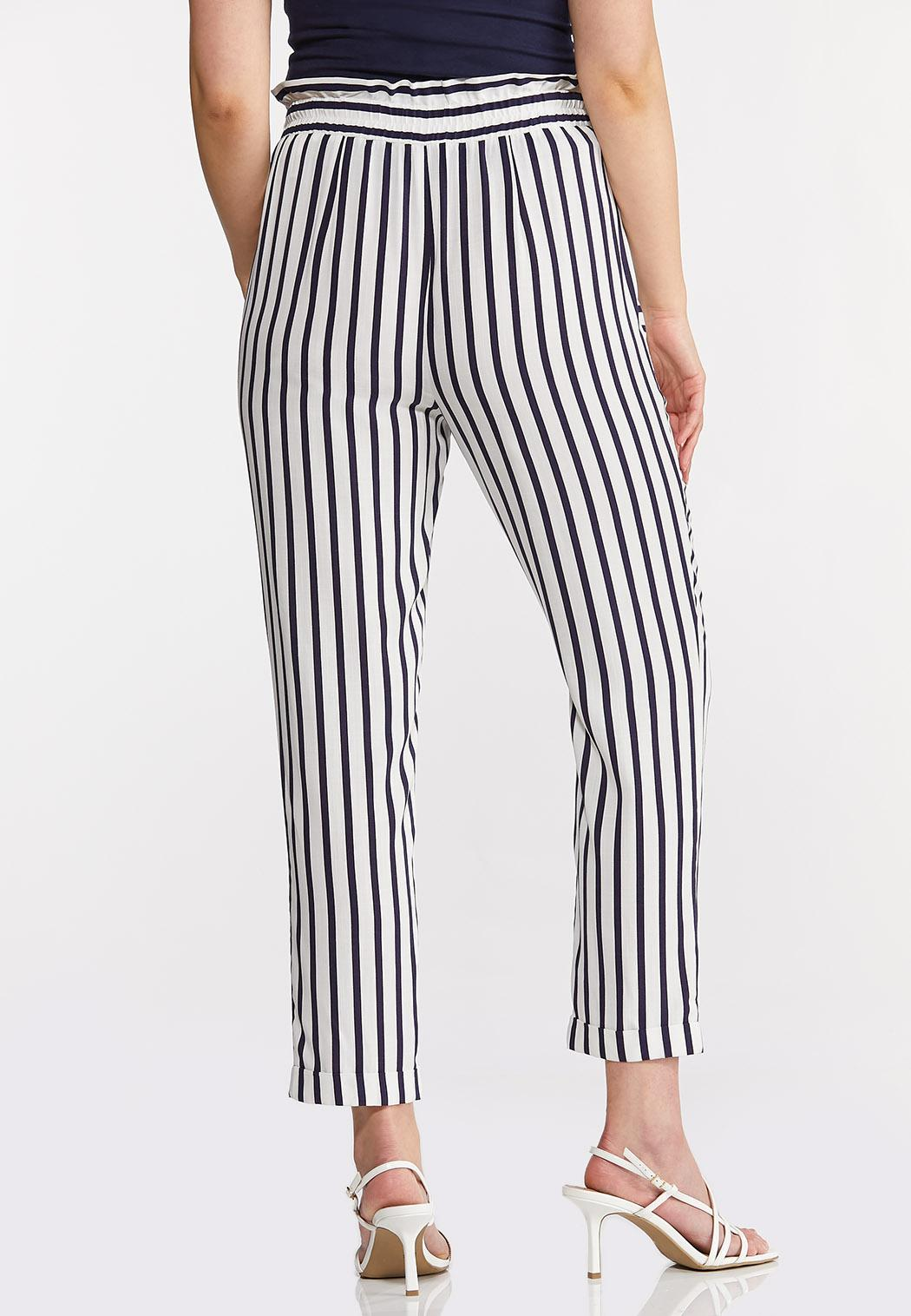 Stripe Tassel Tie Pants (Item #44257417)