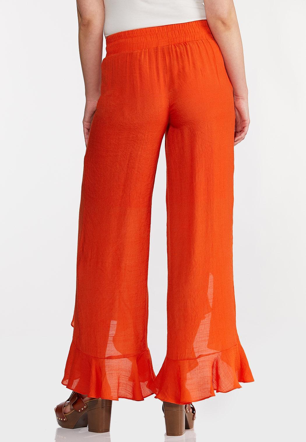 Orange Ruffled Pants (Item #44257615)