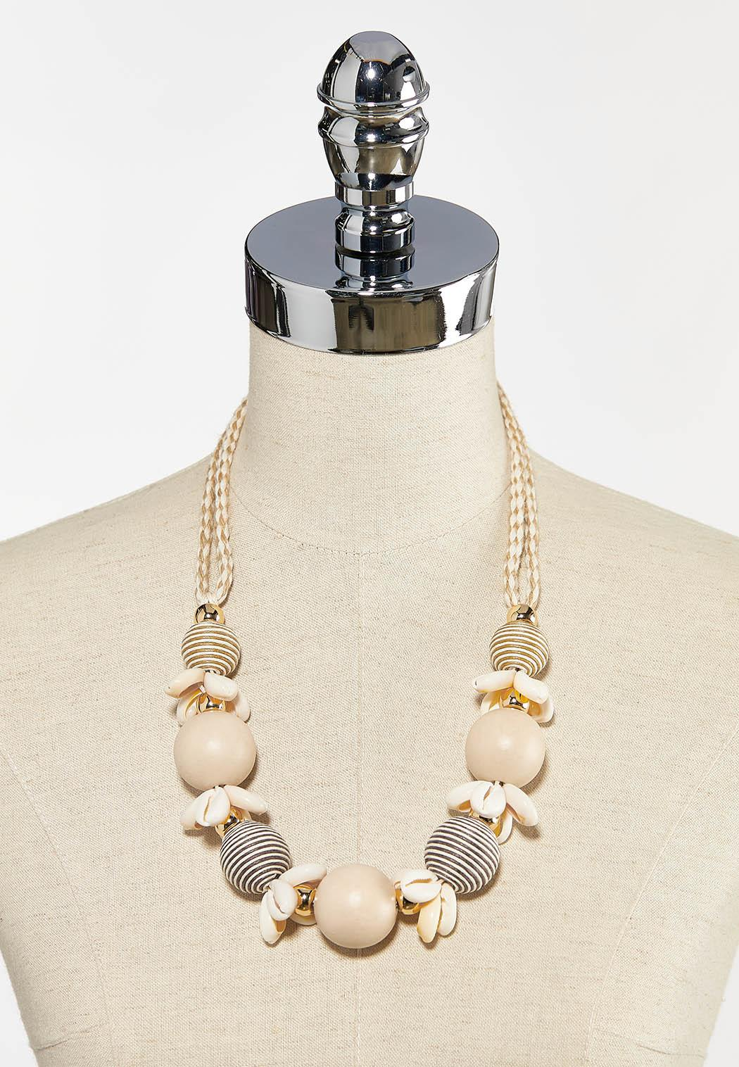 Puka Shell And Bead Necklace (Item #44260468)