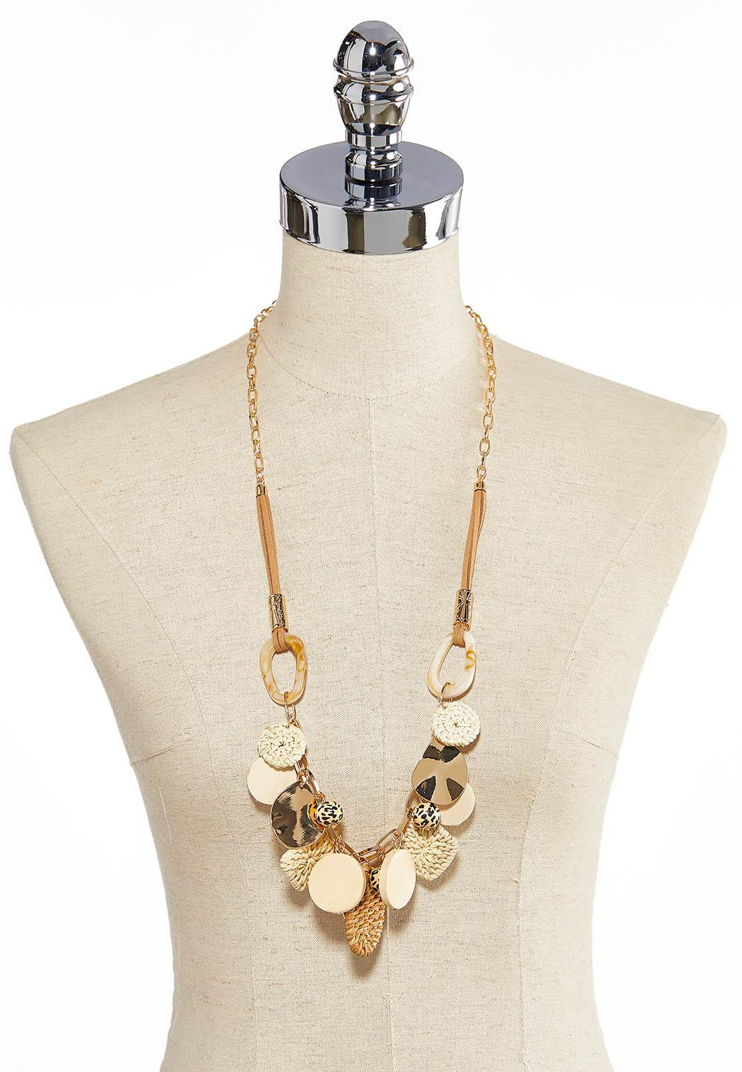 Assorted Charm Chain Necklace (Item #44260825)