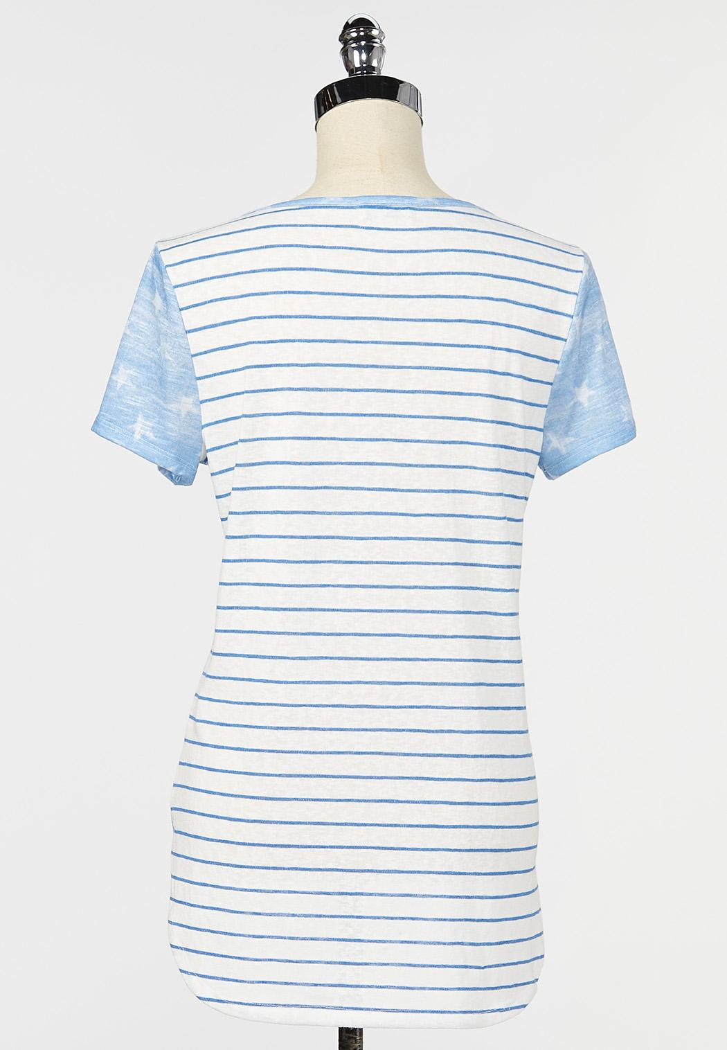 All American Tie Front Tee (Item #44262167)