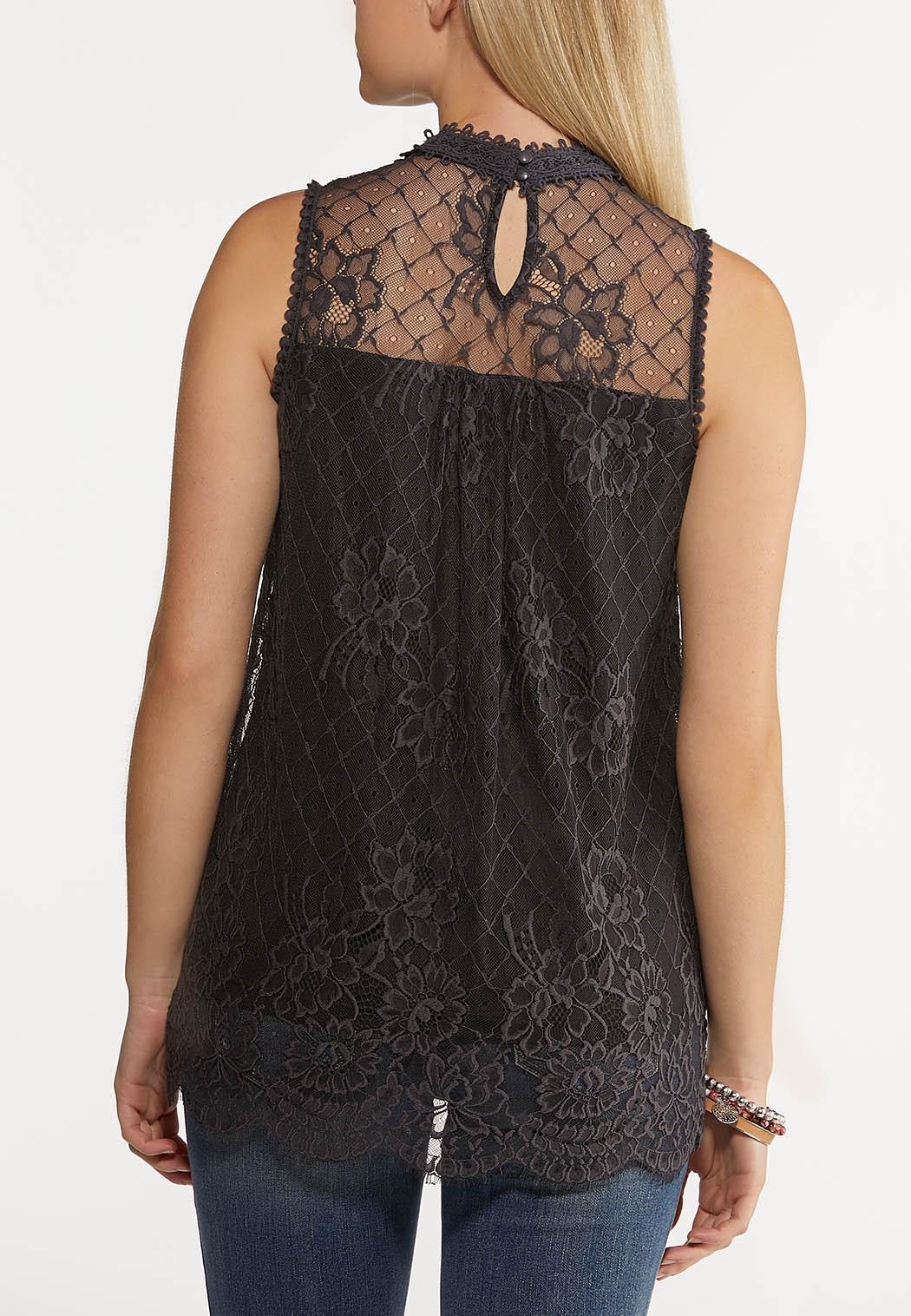 Dressy Lace Tank (Item #44262678)