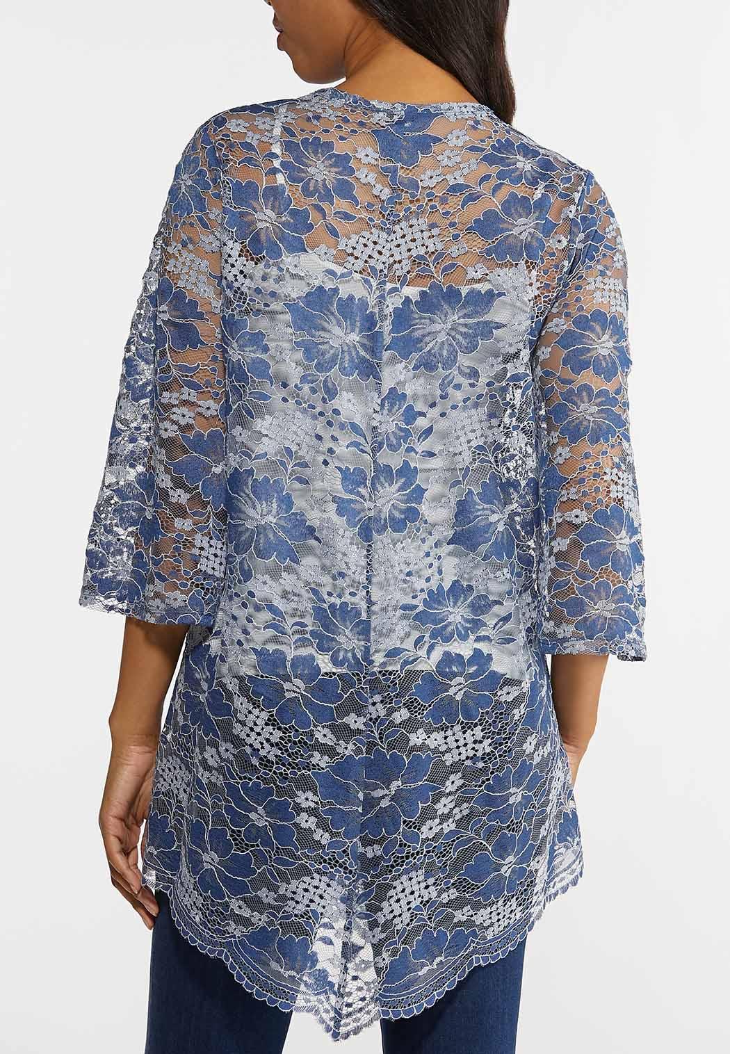 Blue Lace Kimono (Item #44263251)