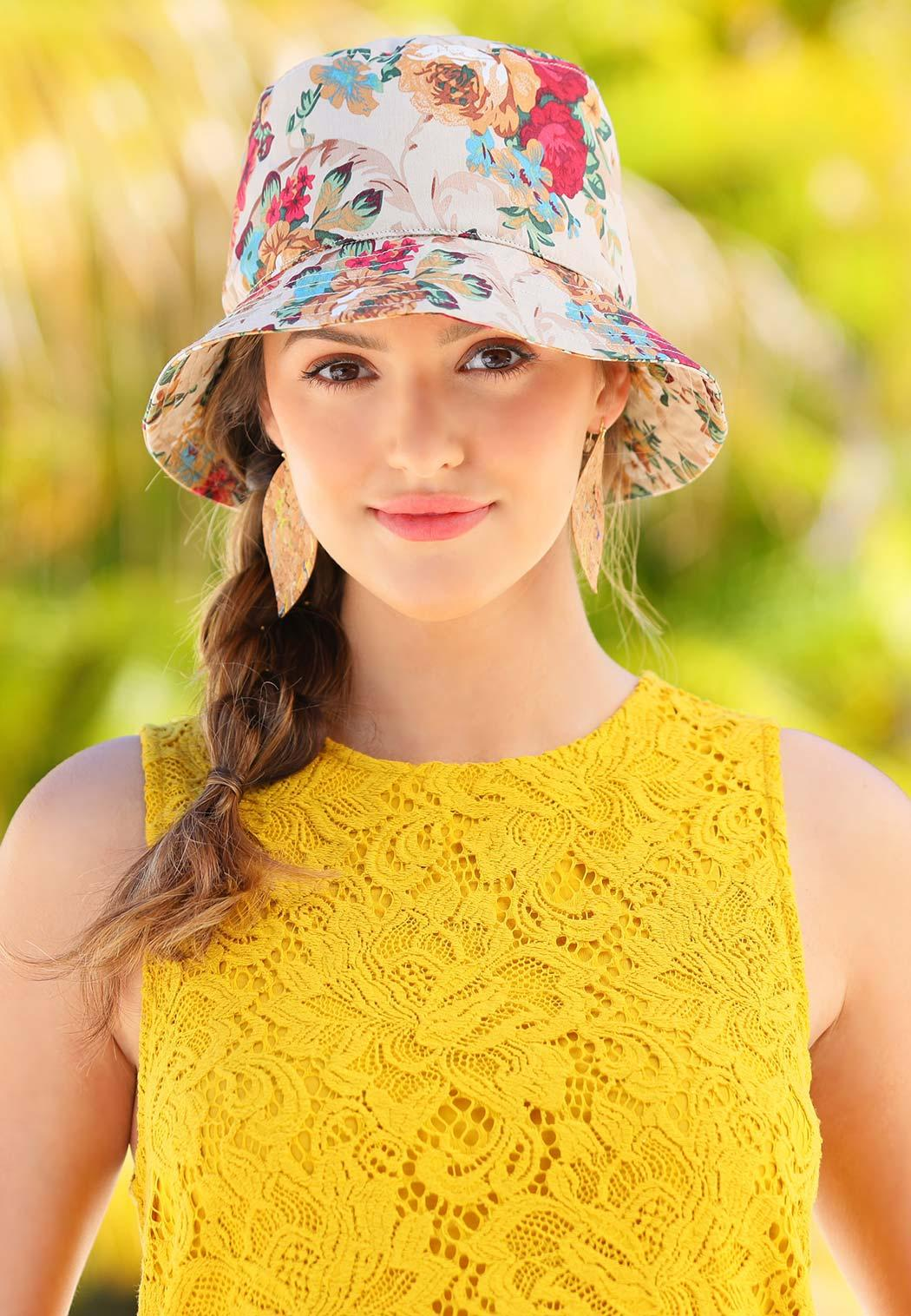 Floral Bucket Hat (Item #44263382)