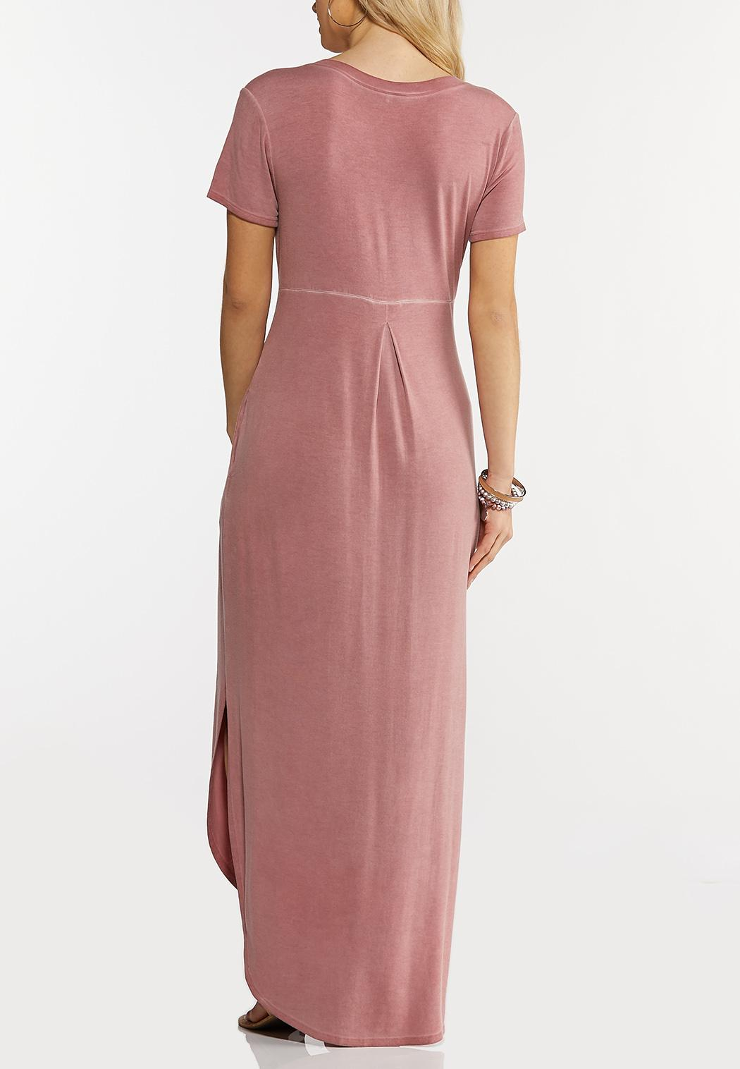 Rose Knotted Maxi Dress (Item #44264501)