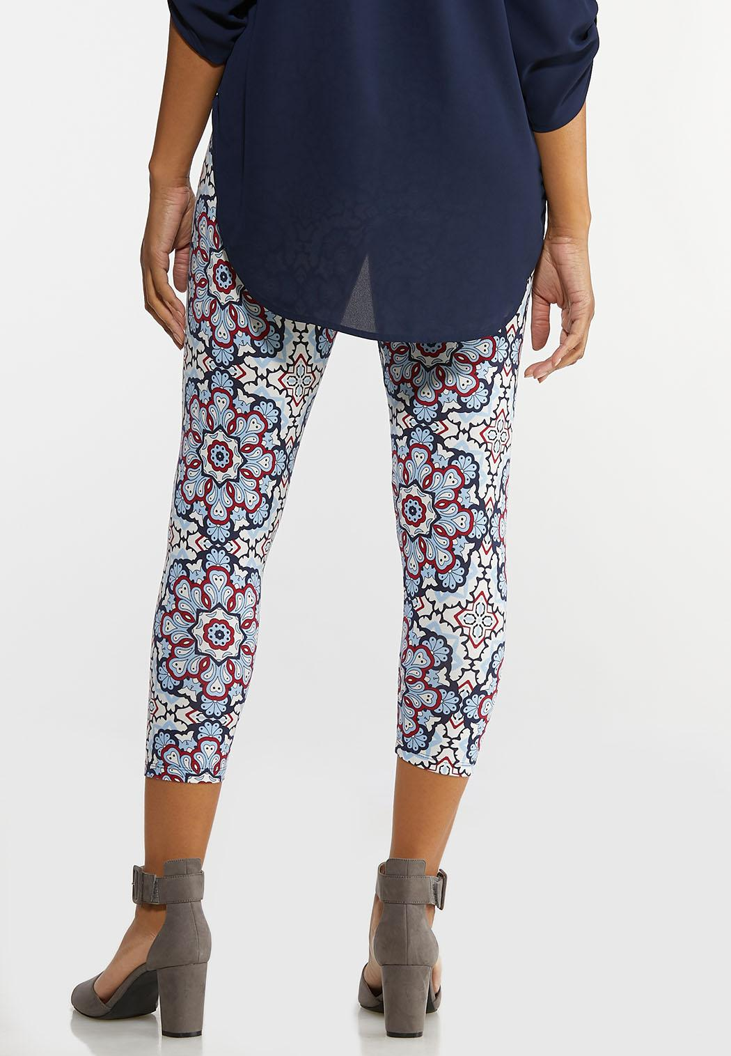 Cropped Kaleidoscope Leggings (Item #44264781)