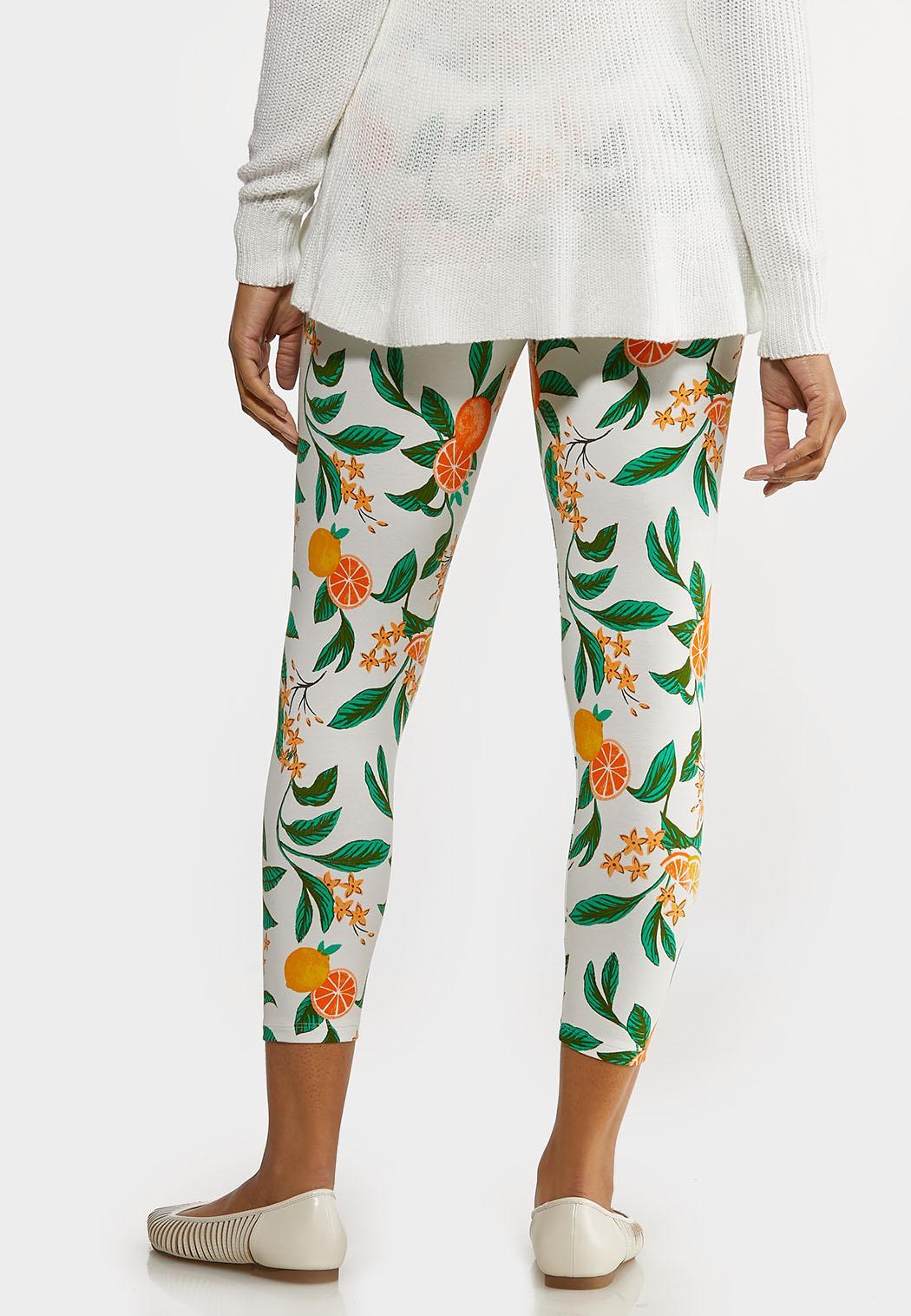 Cropped Citrus Leggings (Item #44264812)