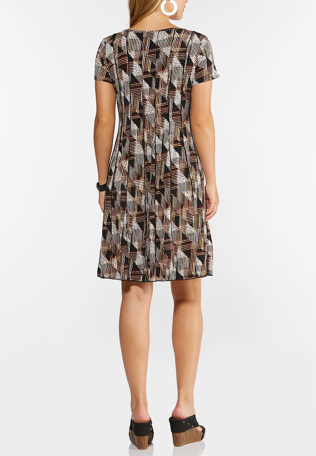 Embellished Geo Seamed Dress (Item #44266792)