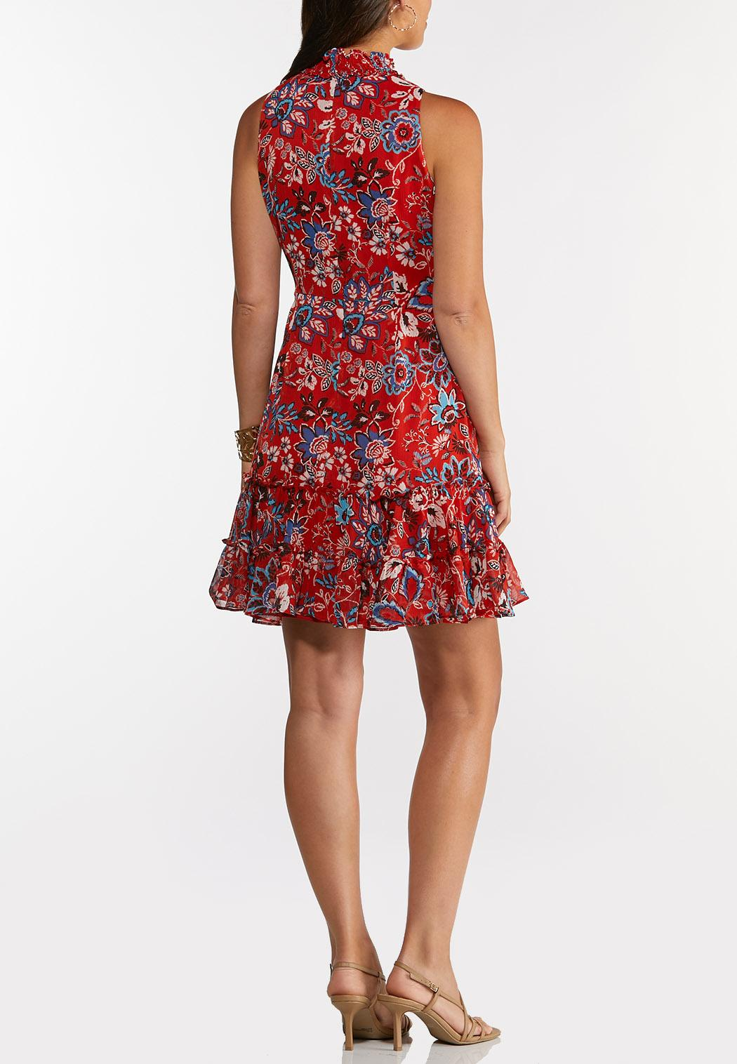 Plus Size Ruffled Americana Dress (Item #44266887)