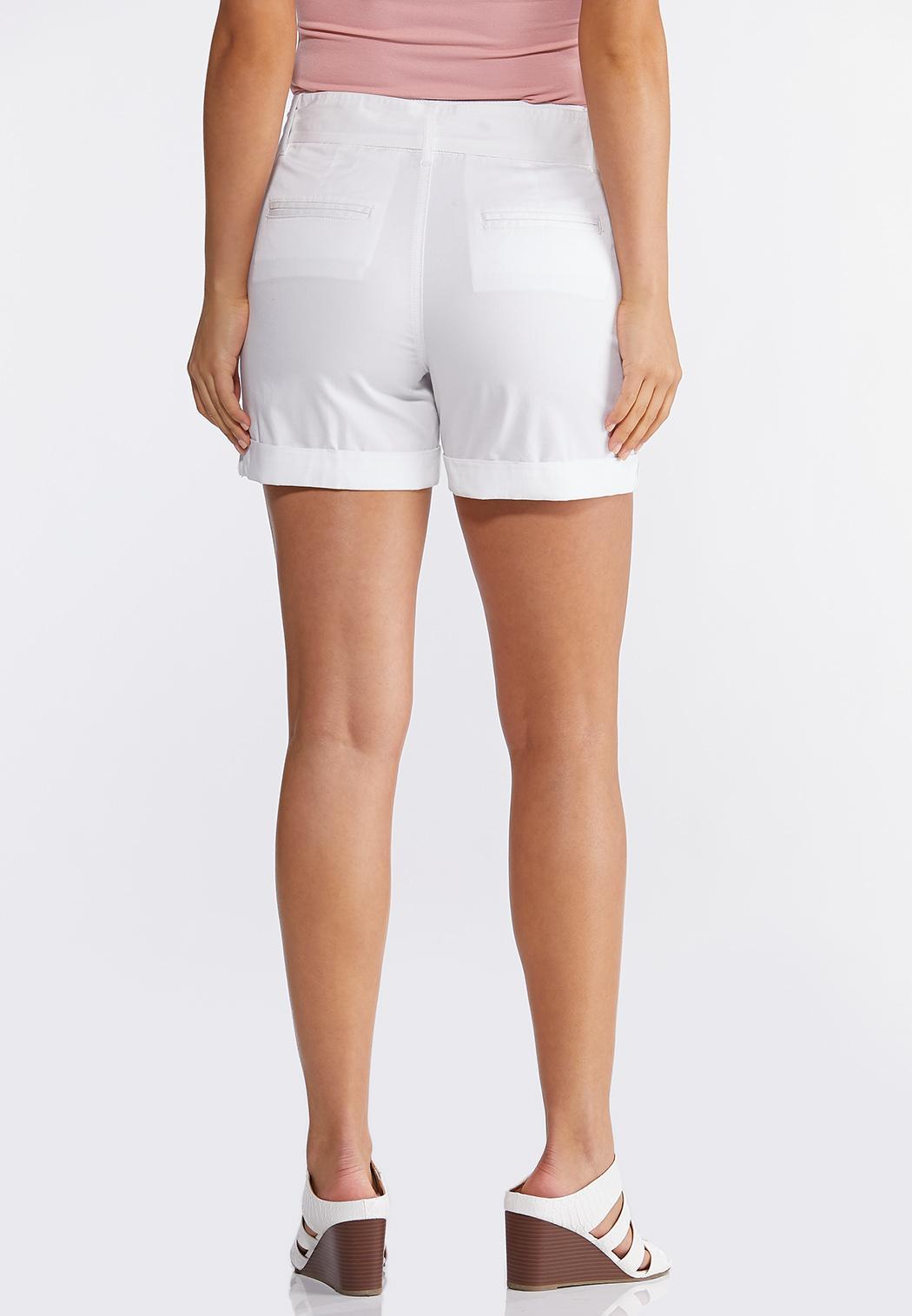 Tie Belt Woven Shorts (Item #44266943)