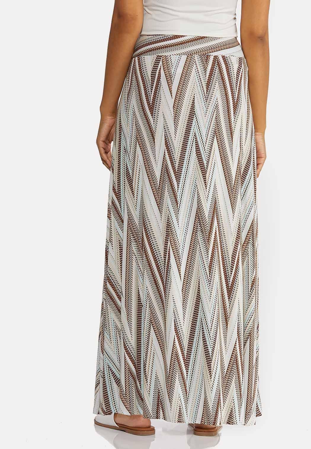 Chevron Maxi Skirt (Item #44268980)