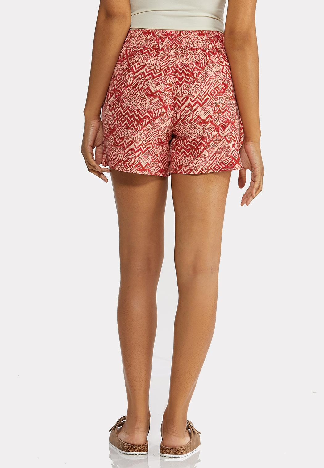 Tribal Tie Front Shorts (Item #44269249)