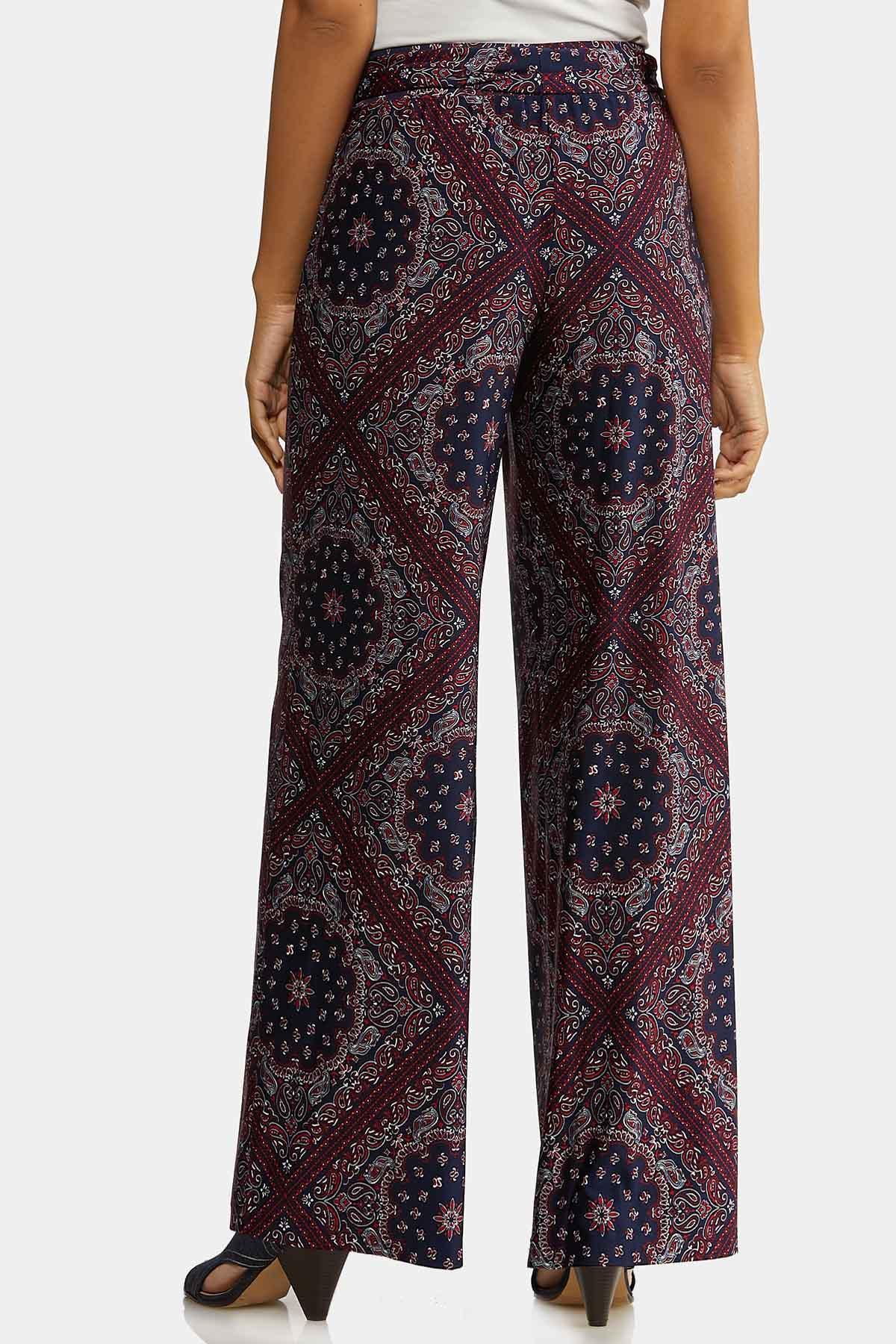Petite Moroccan Tie Front Pants (Item #44269584)