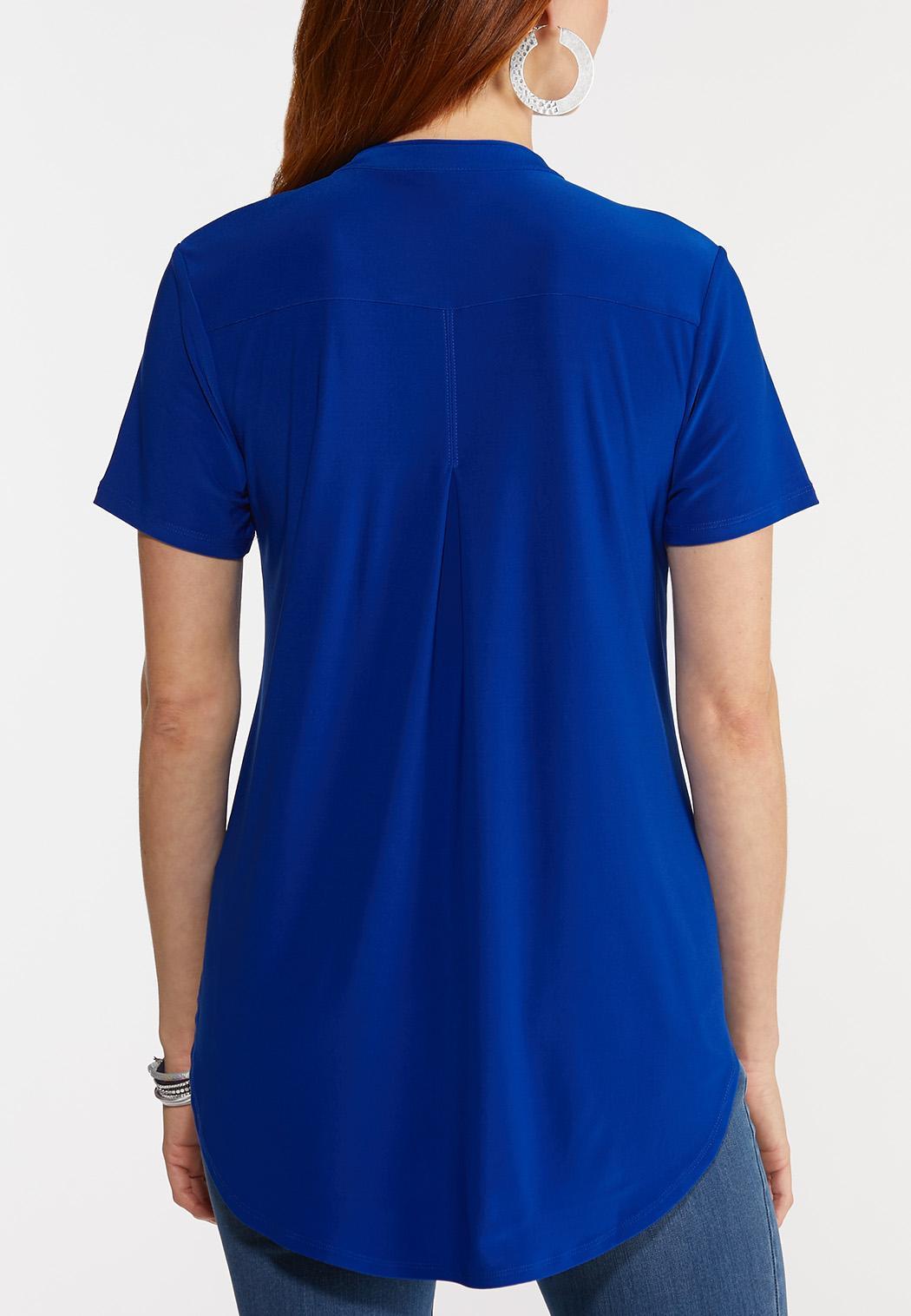 Dressy Knit Popover Top (Item #44270130)