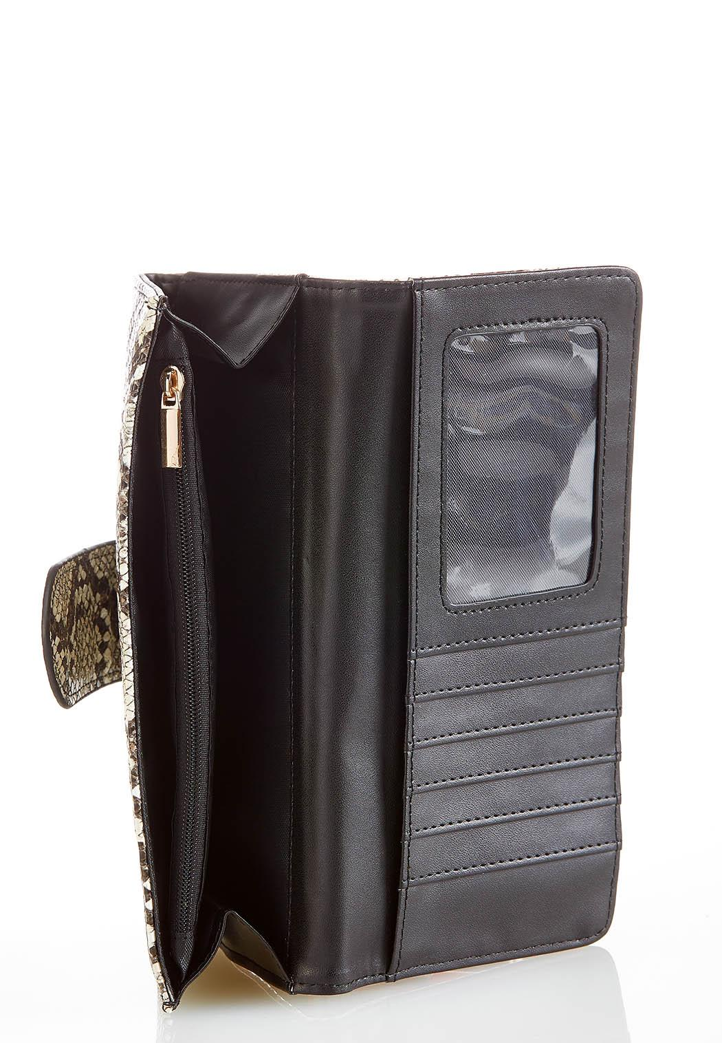 Snakeskin Flap Wallet (Item #44270795)