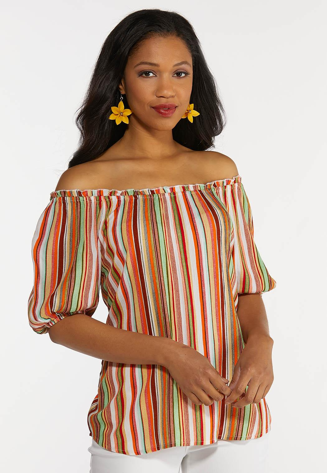 Citrus Stripe Top (Item #44270938)