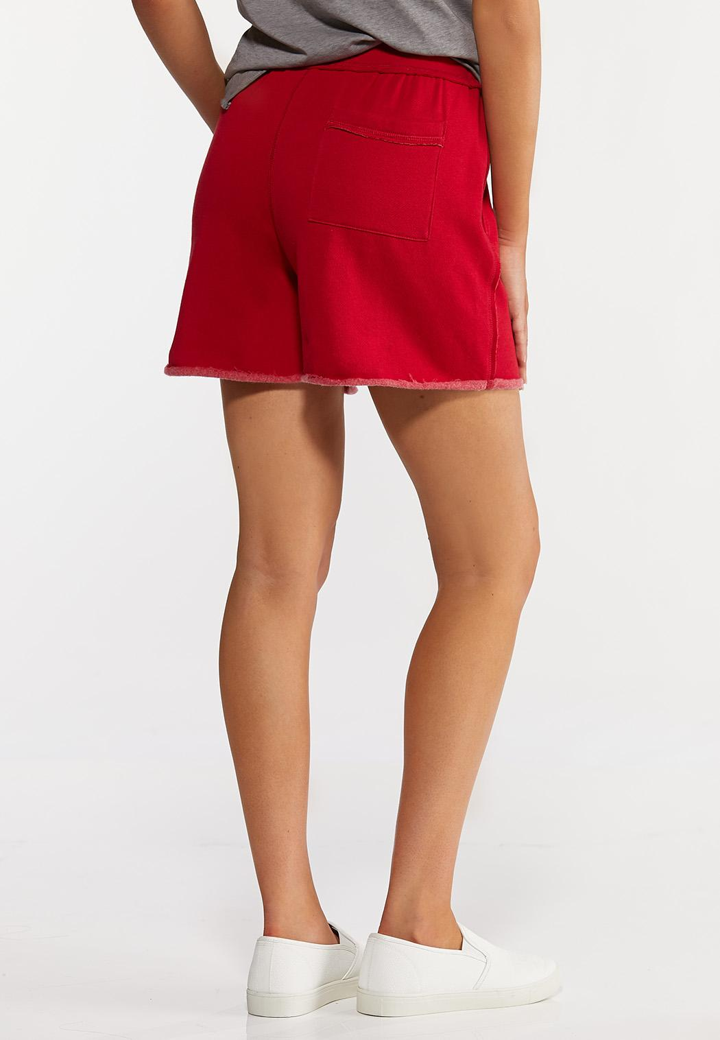 Red Fleece Lined Shorts (Item #44272390)
