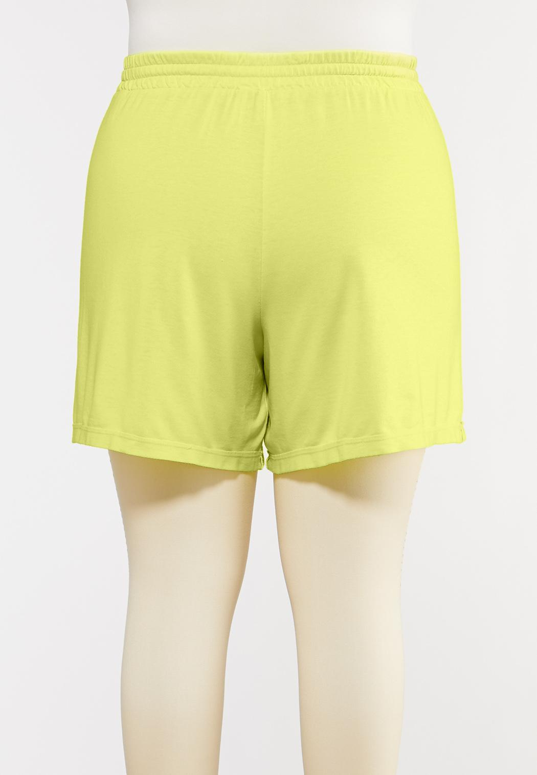 Plus Size French Terry Shorts (Item #44272485)