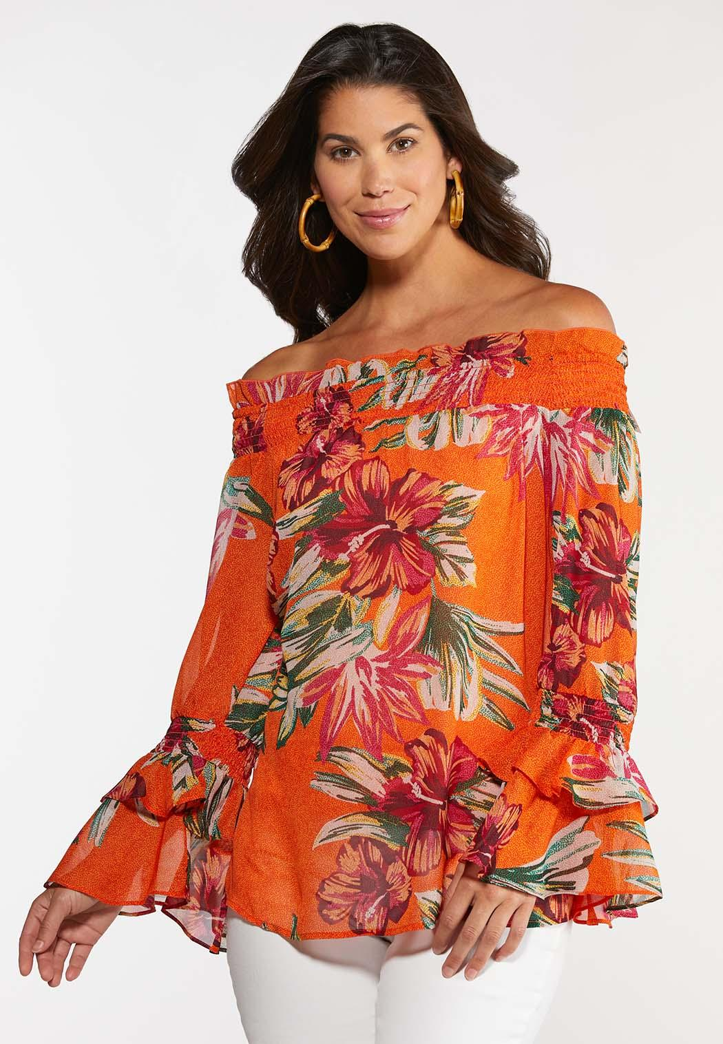 Citrus Floral Poet Top (Item #44272527)