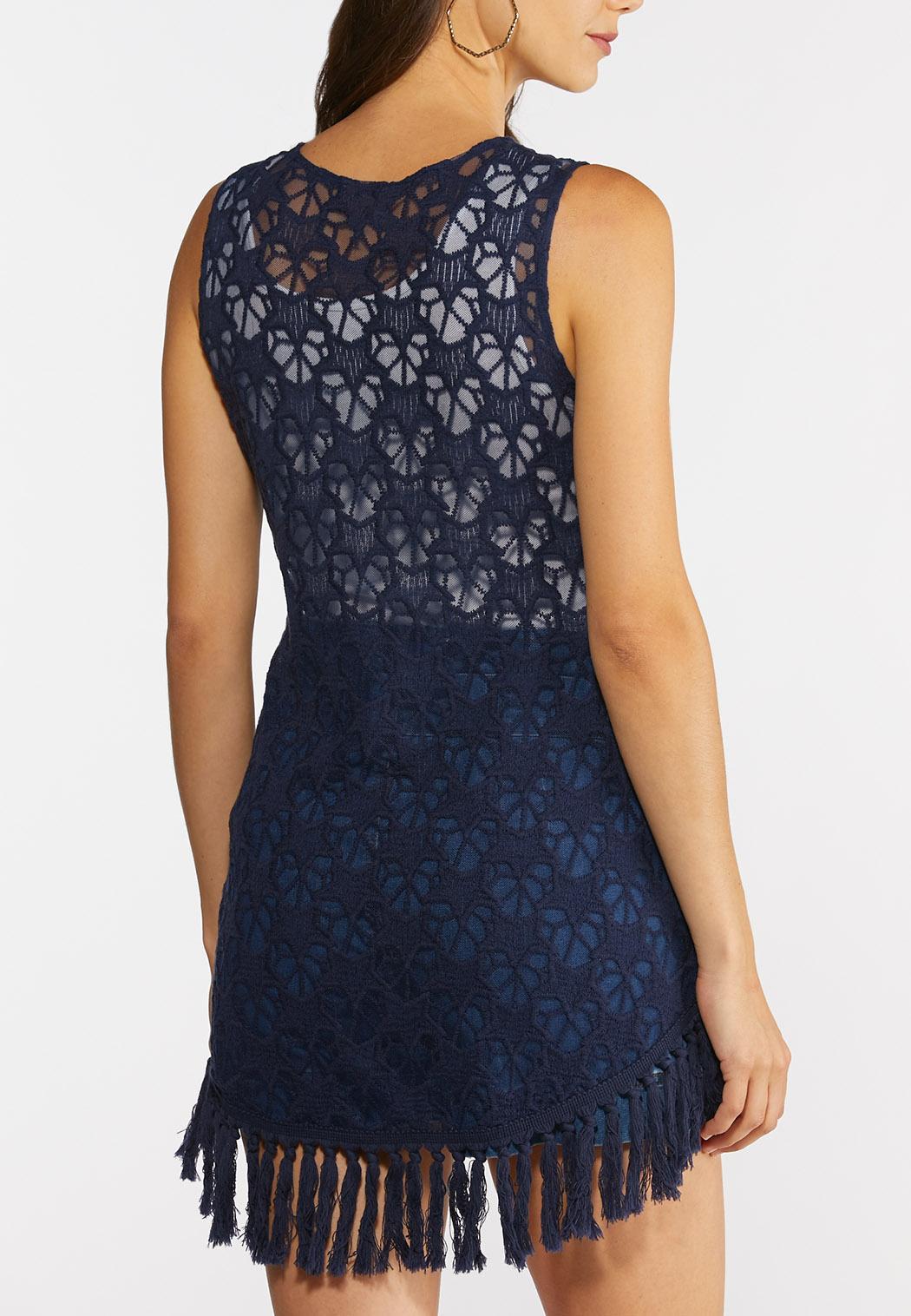 Frayed Star Crochet Vest (Item #44272797)