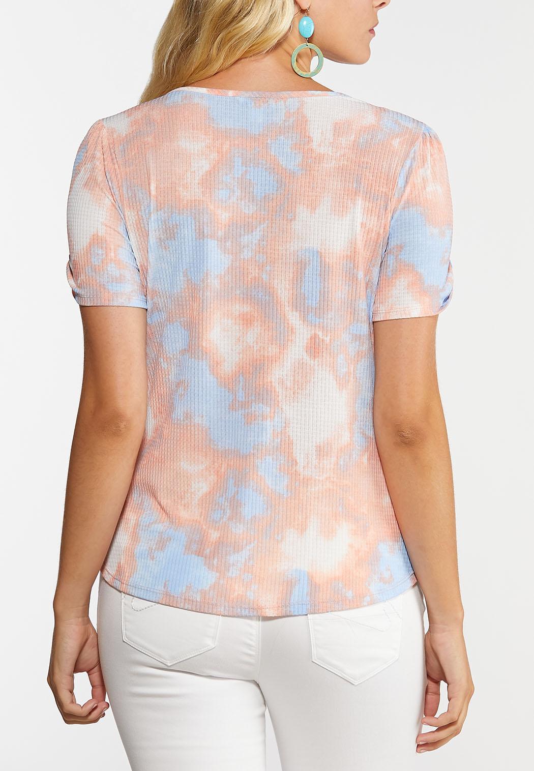Watercolor Bloom Peplum Top (Item #44273724)