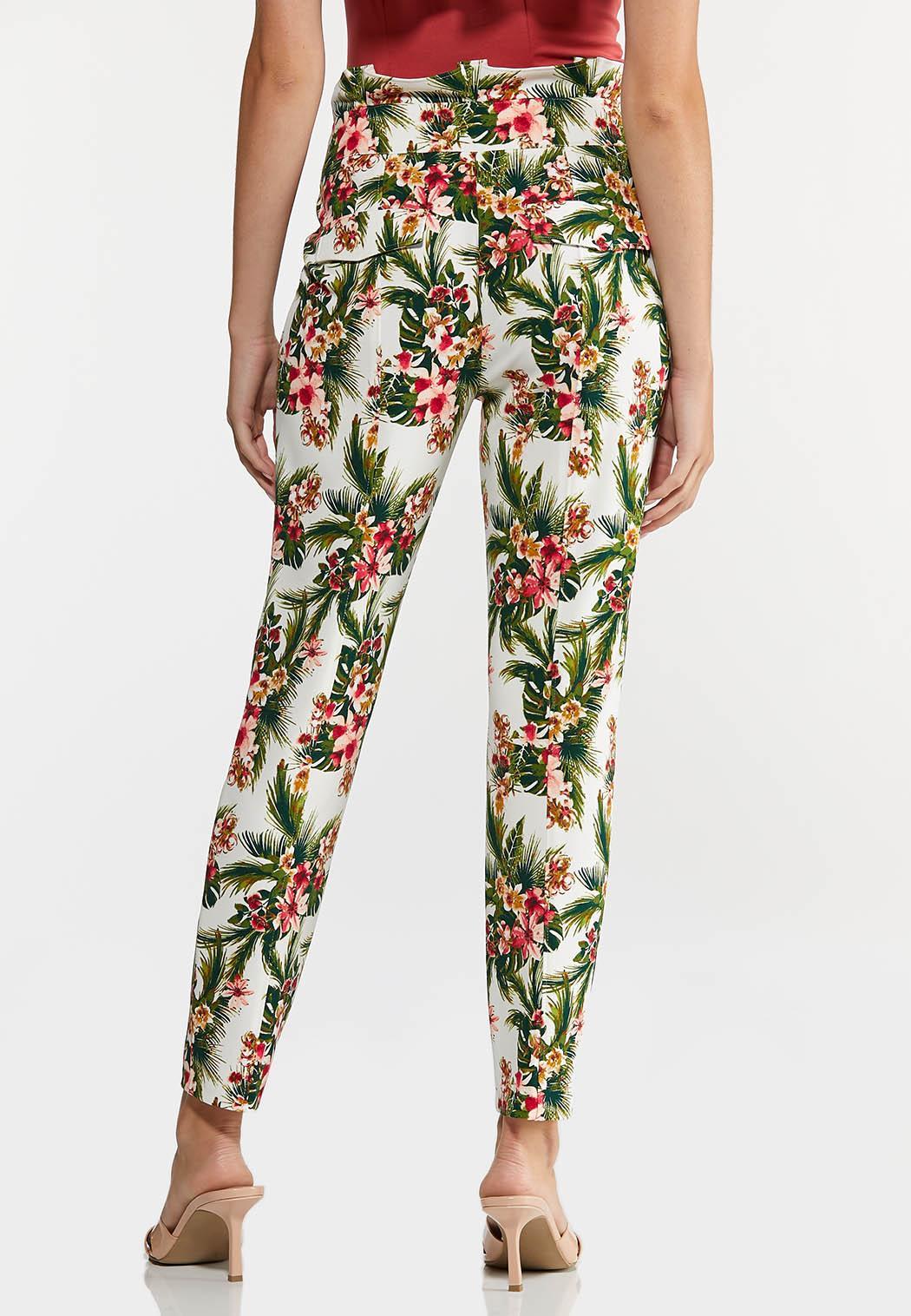 Petite Tropical Slim Utility Pants (Item #44274262)