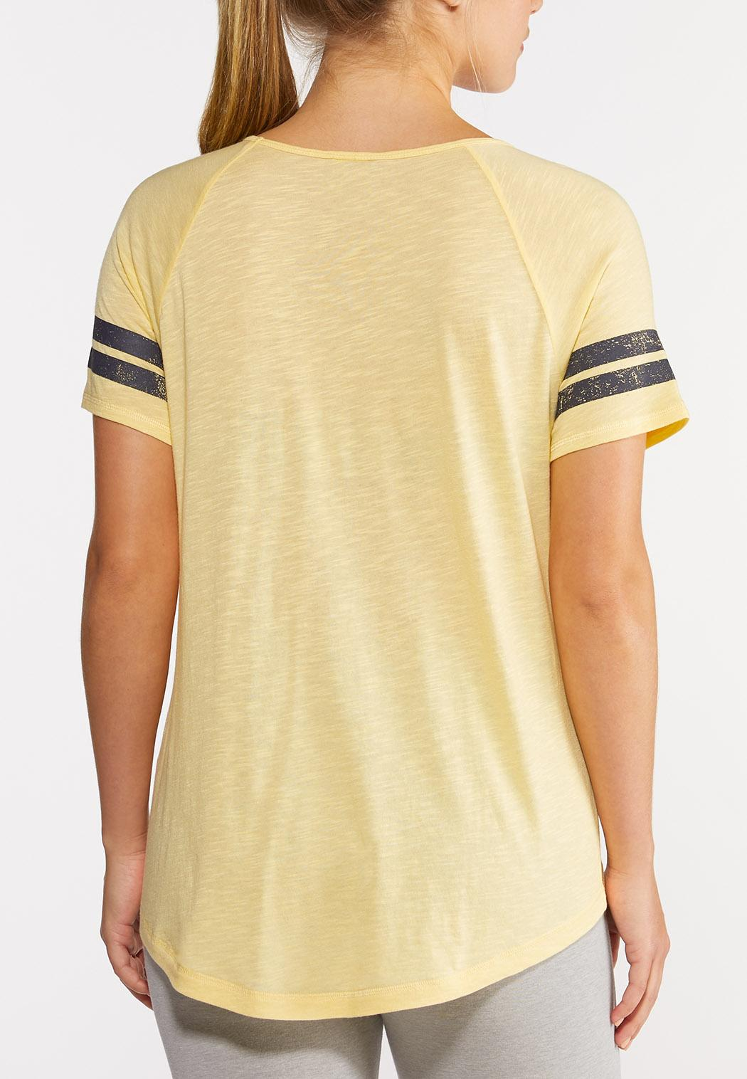 Plus Size Weekends And Sunshine Tee (Item #44274586)