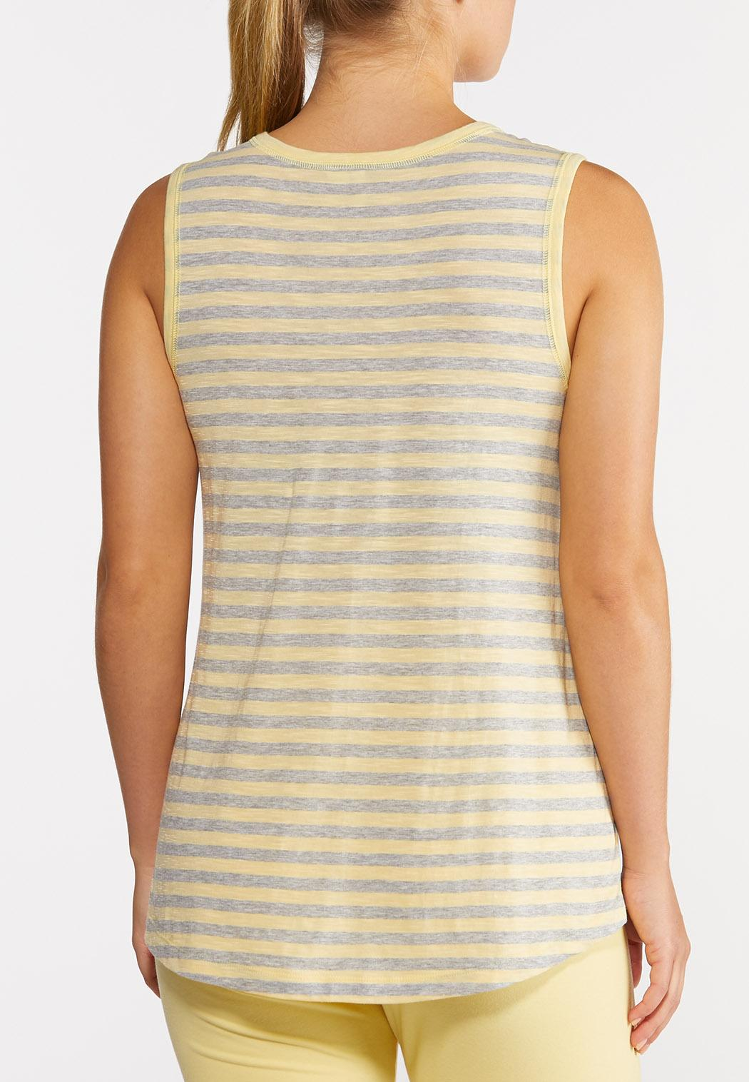 Yellow Stripe Tank (Item #44274755)