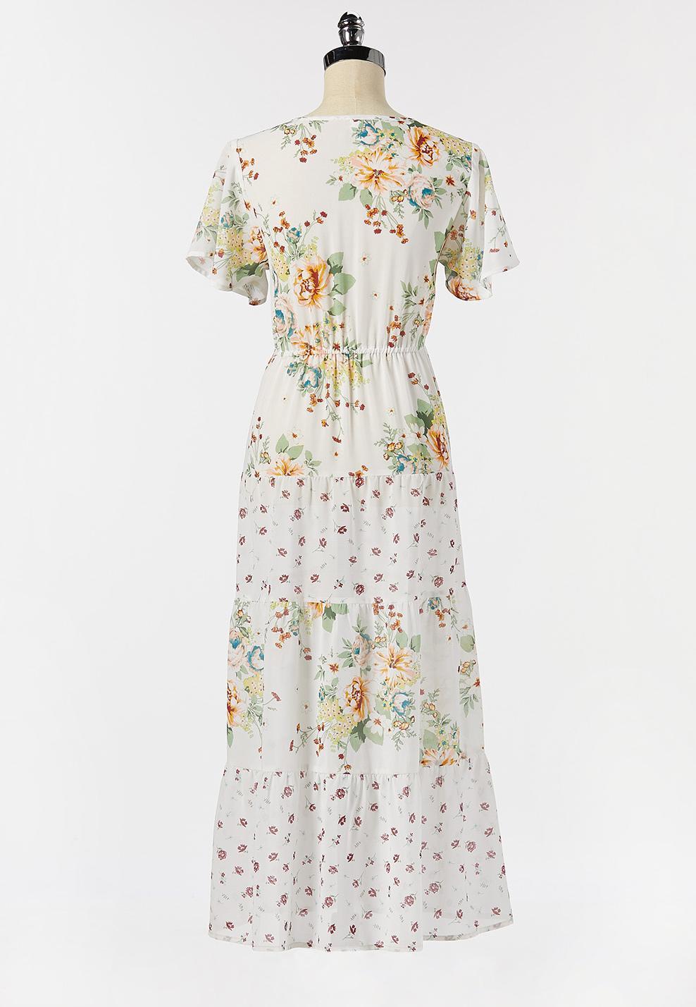 Floral Tie Waist Kimono (Item #44274830)