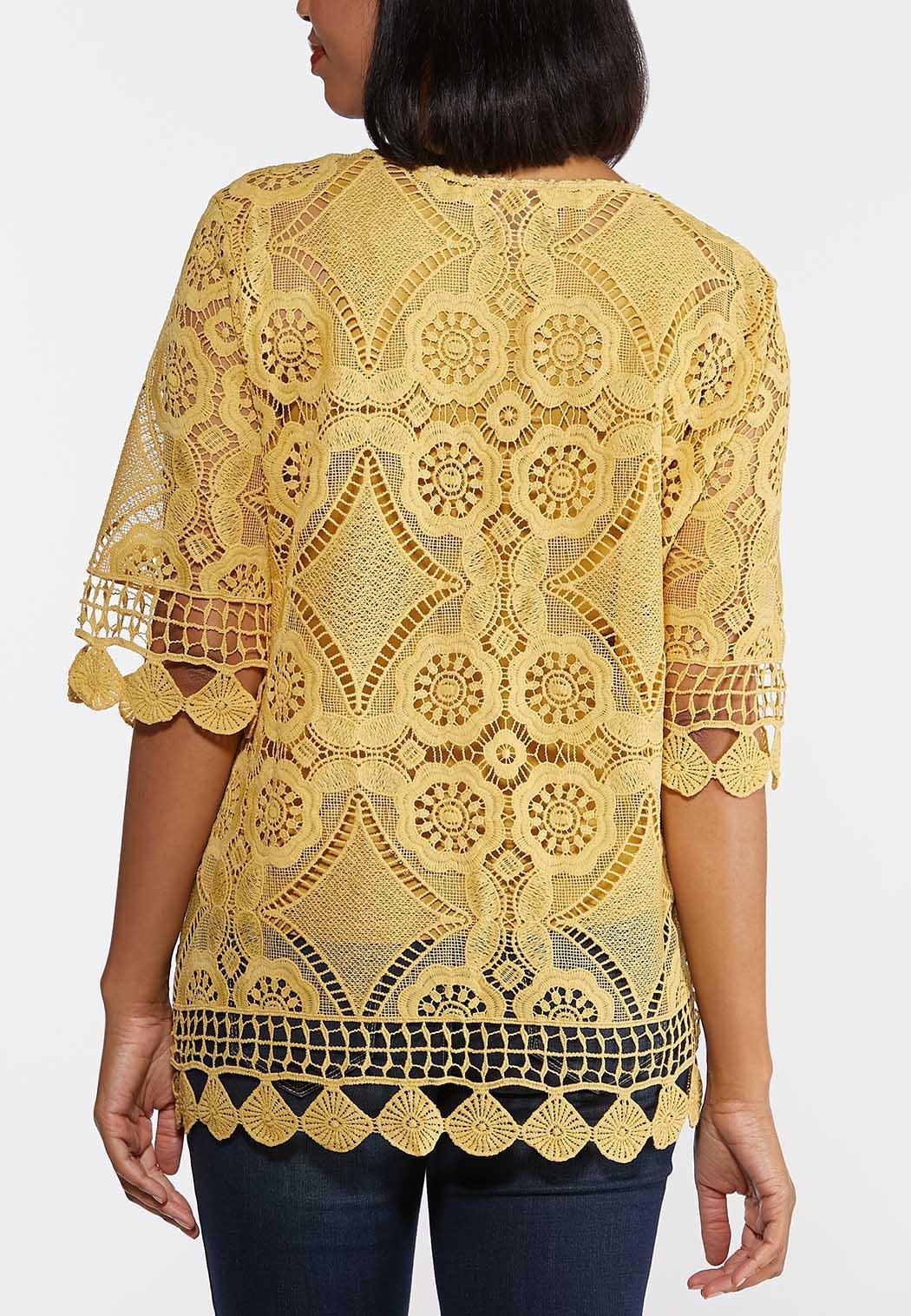 Medallion Crochet Top (Item #44275127)