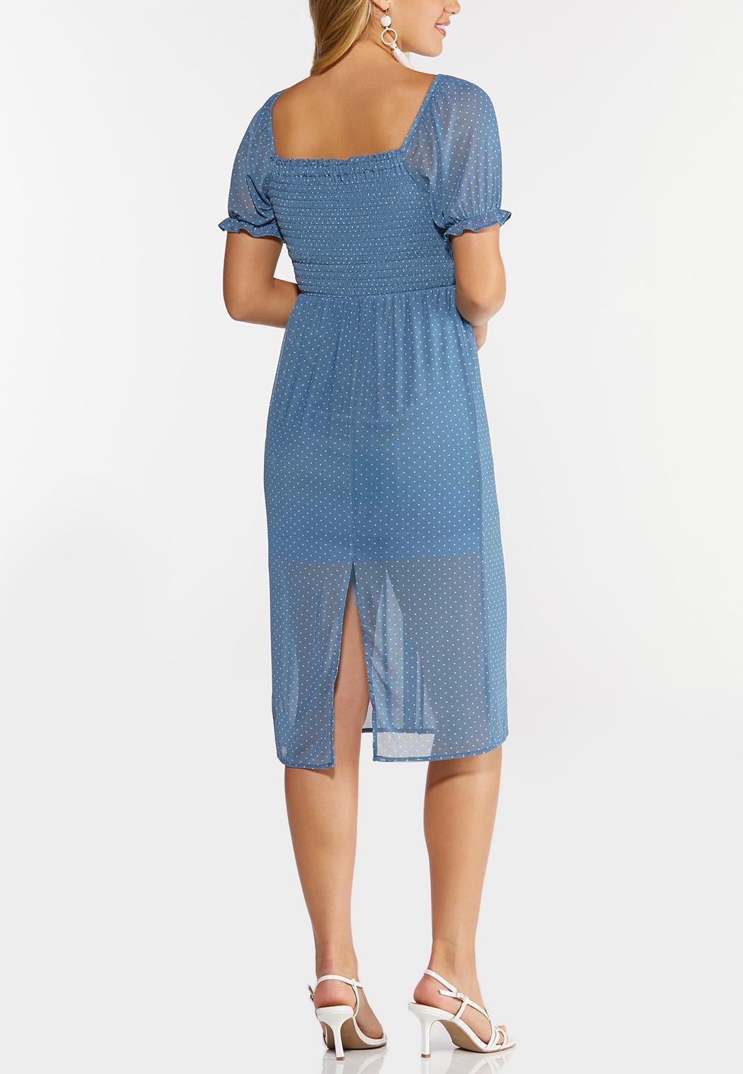 Mesh Dotted Dress (Item #44275460)