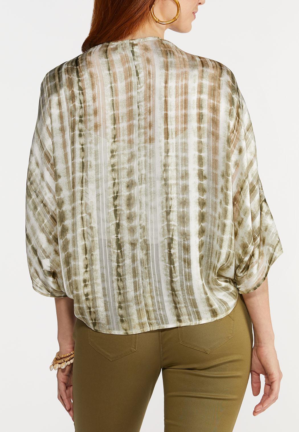 Tie Dye Kimono Top (Item #44277867)