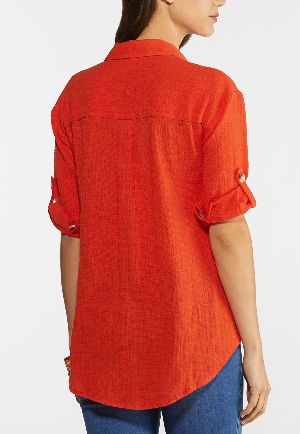 Plus Size Casual Summer Top (Item #44279790)