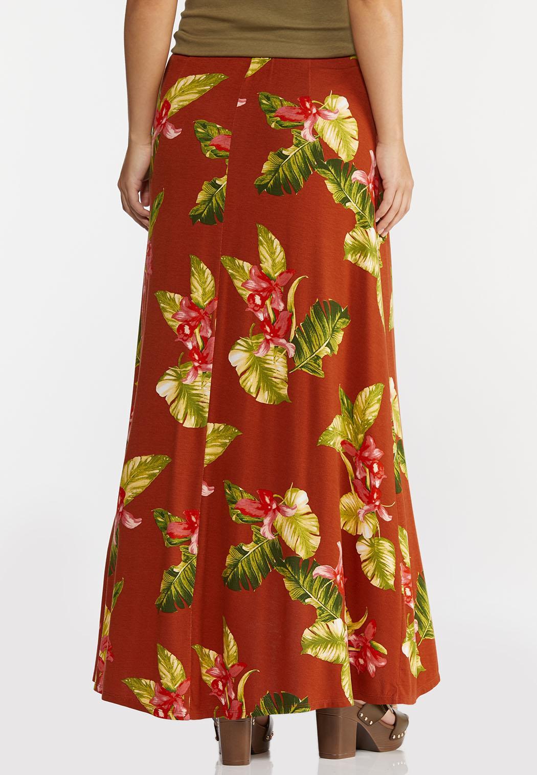 Orchid Breeze Maxi Skirt (Item #44280616)
