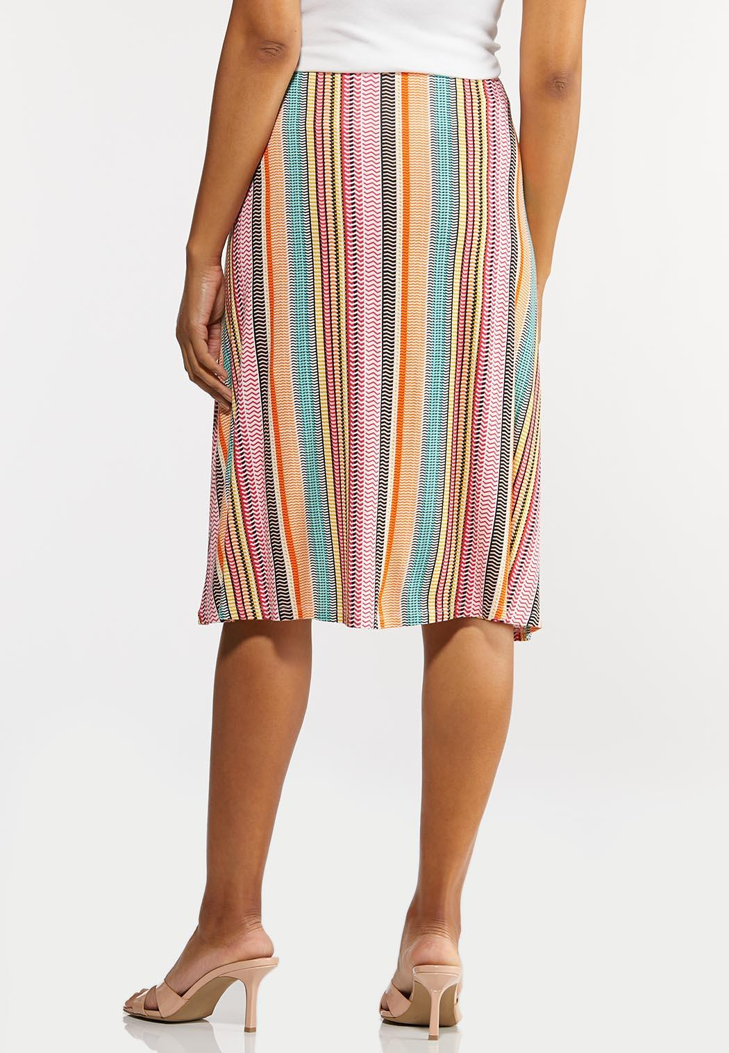 Bright Mod Stripe Skirt (Item #44280772)