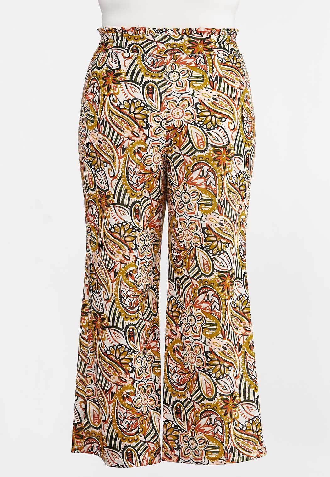 Plus Size Island Paisley Pants (Item #44281055)