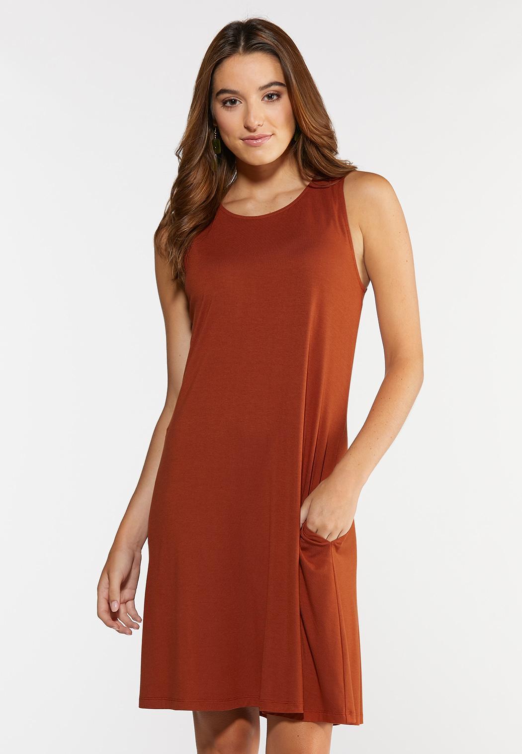 Plus Size Paisley Tie Back Dress (Item #44281926)