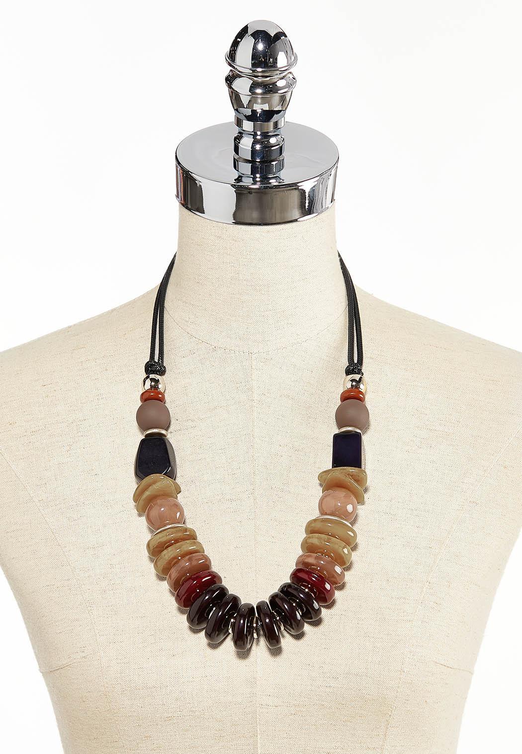 Mixed Acrylic Bead Necklace (Item #44283127)